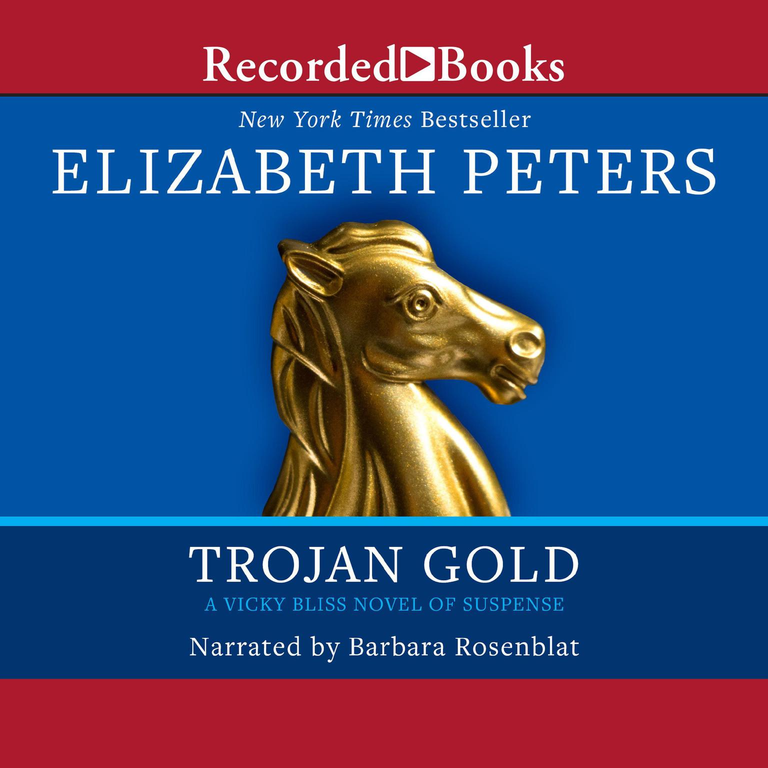 Printable Trojan Gold Audiobook Cover Art