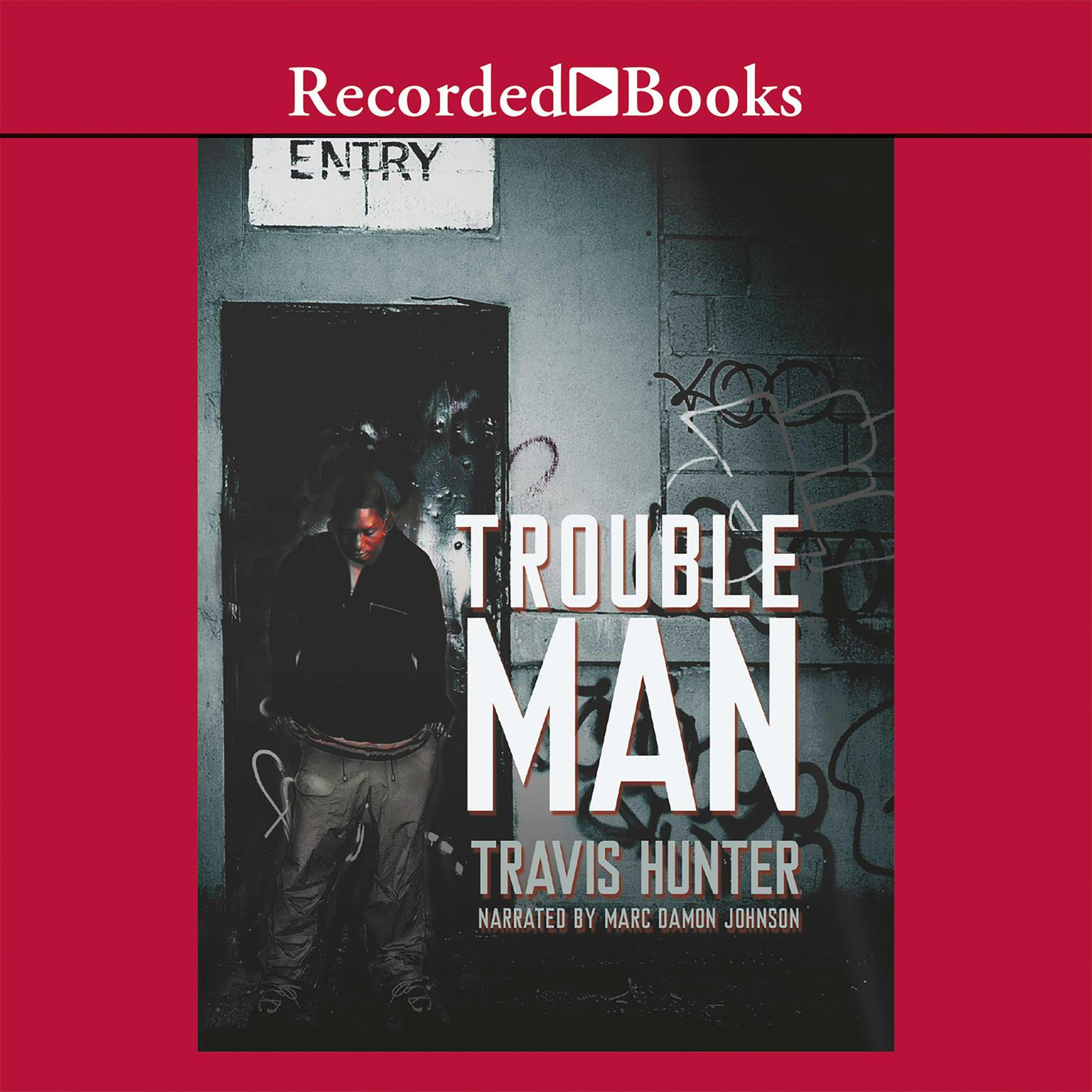 Printable Trouble Man Audiobook Cover Art