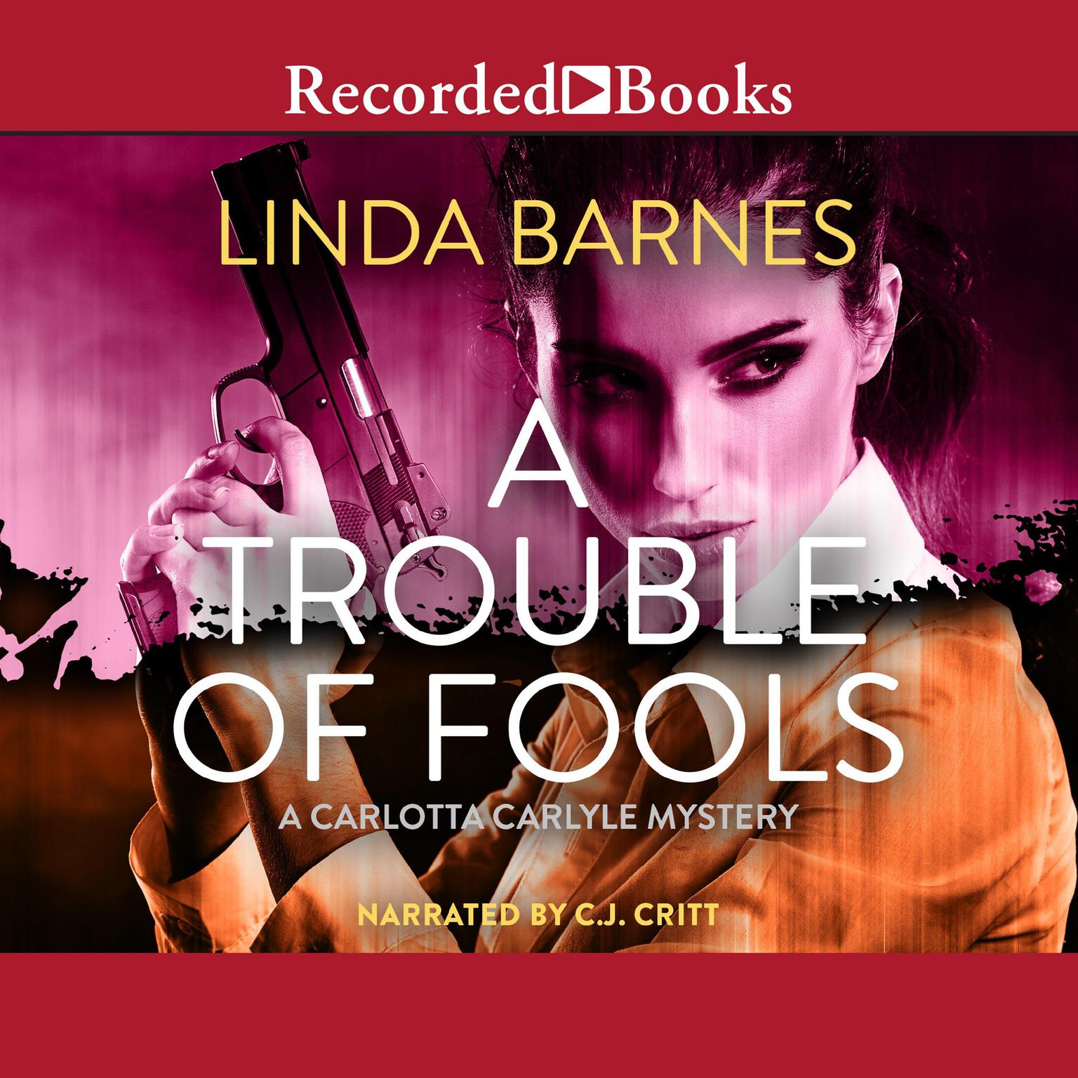 Printable A Trouble of Fools Audiobook Cover Art