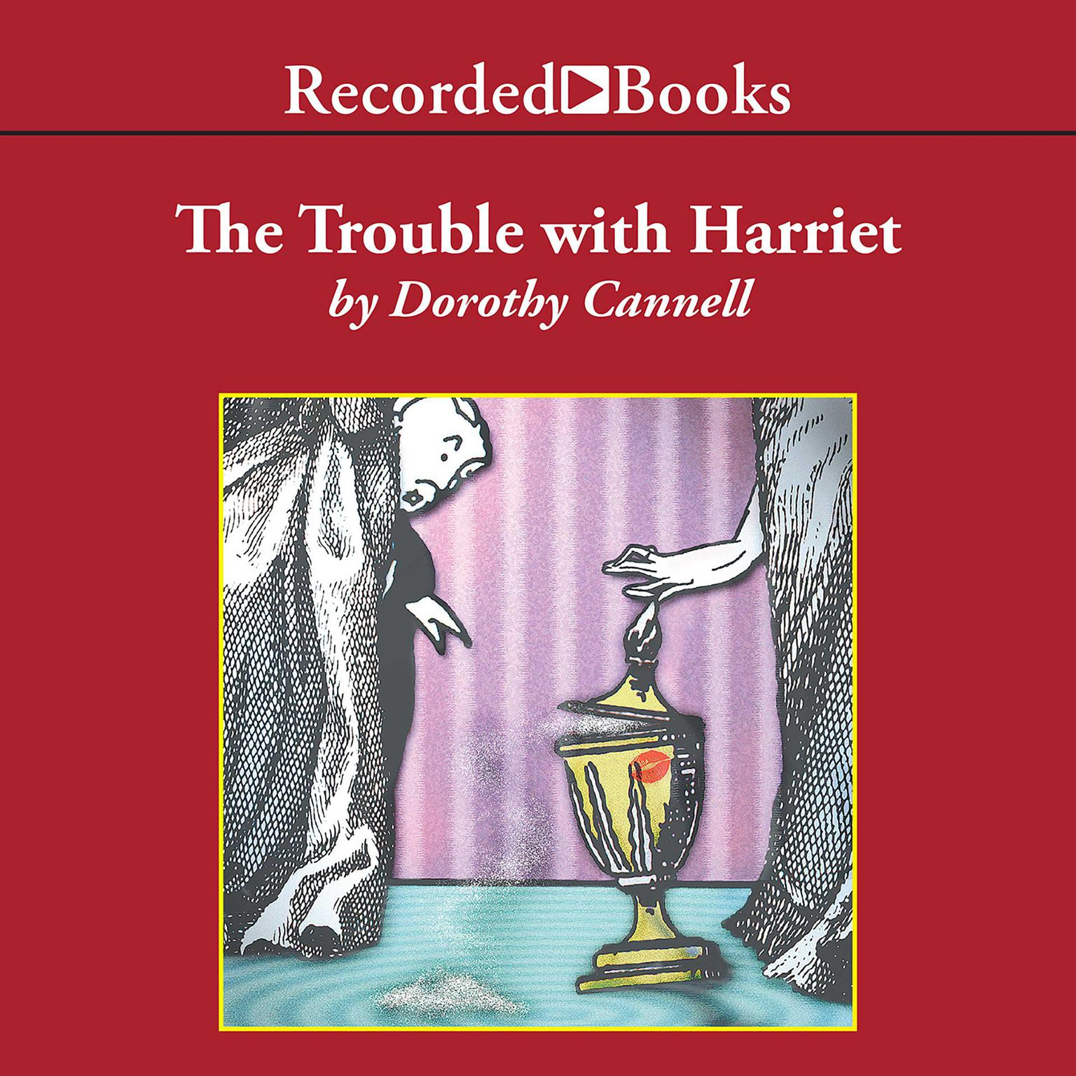 Printable The Trouble with Harriet Audiobook Cover Art