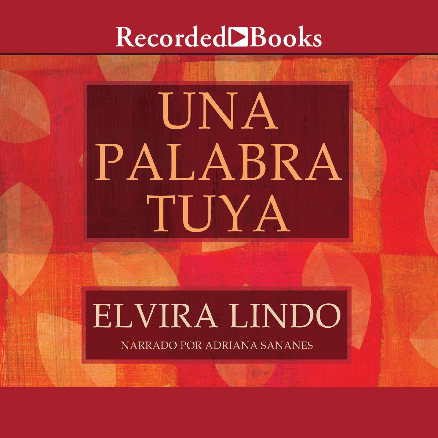 Printable Una Palabra Tuya Audiobook Cover Art