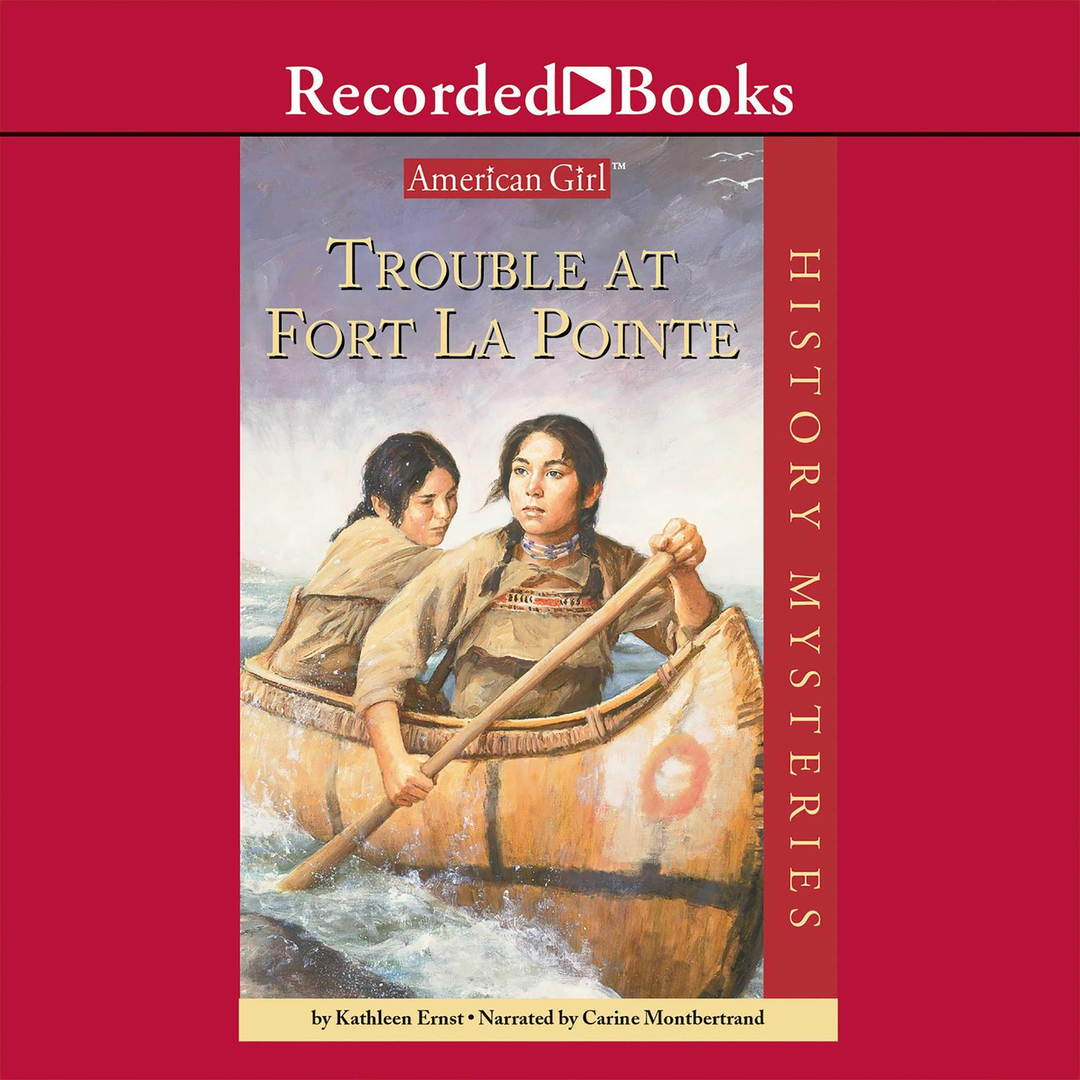 Printable Trouble at Fort La Pointe Audiobook Cover Art