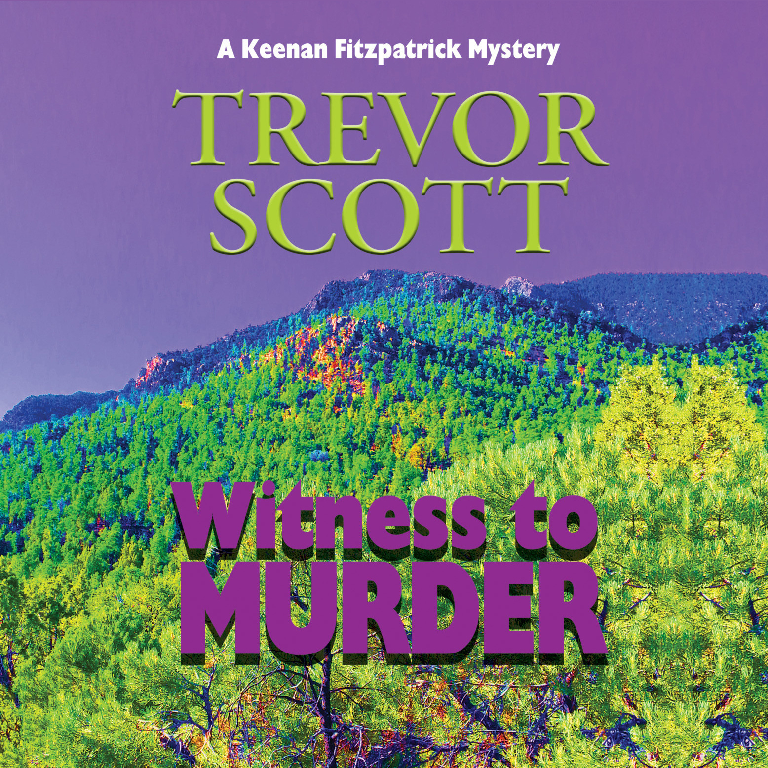 Printable Witness to Murder Audiobook Cover Art