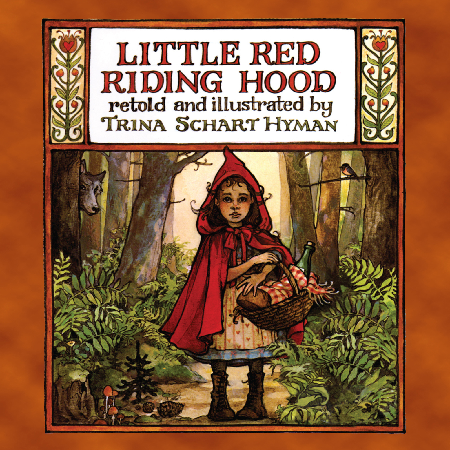 Printable Little Red Riding Hood Audiobook Cover Art