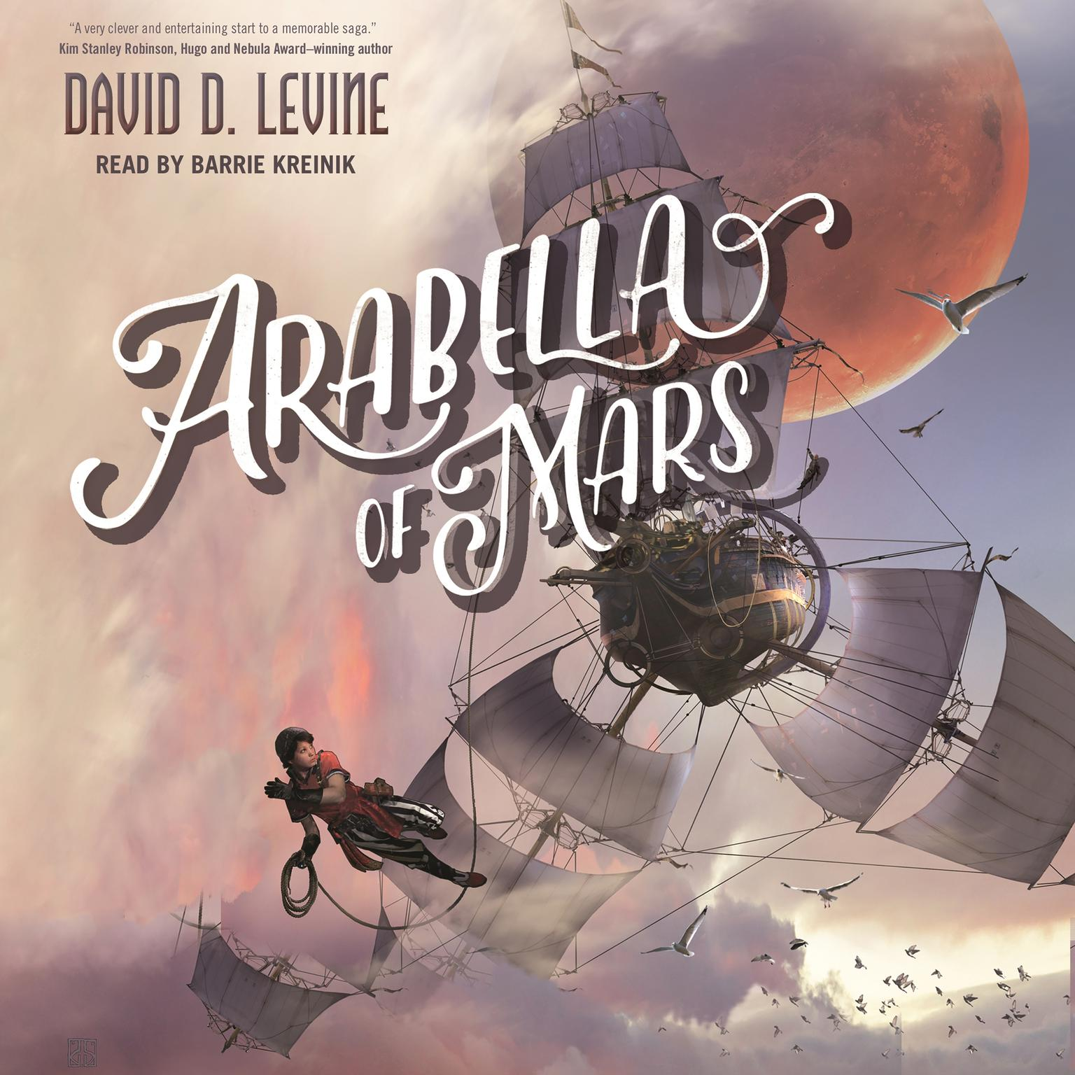 Printable Arabella of Mars Audiobook Cover Art