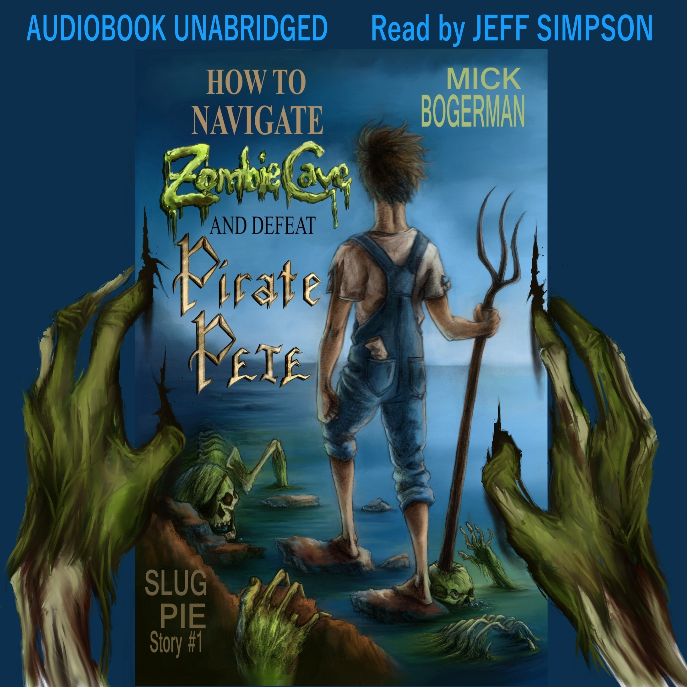 Printable How to Navigate Zombie Cave and Defeat Pirate Pete Audiobook Cover Art