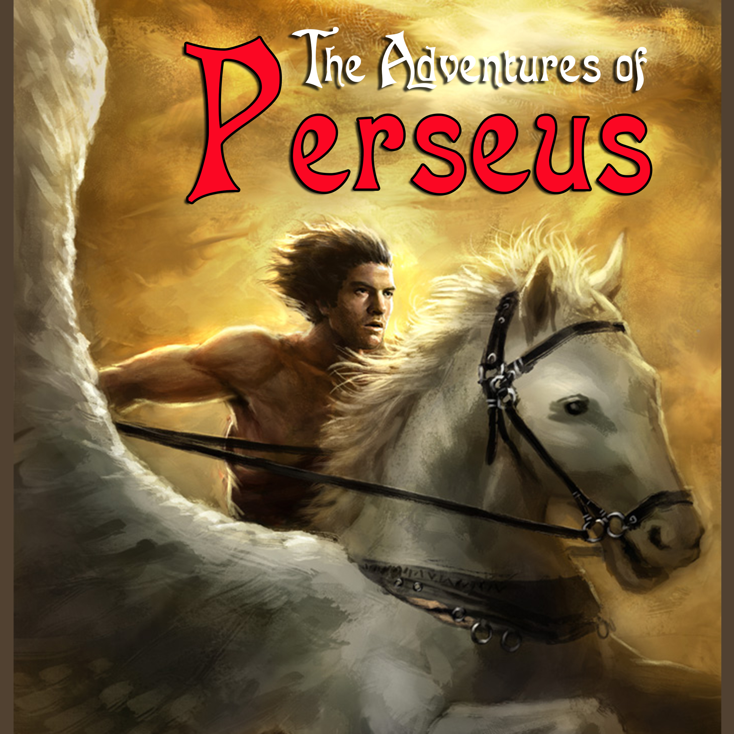 Printable The Adventures of Perseus: A Greek Myth Audiobook Cover Art