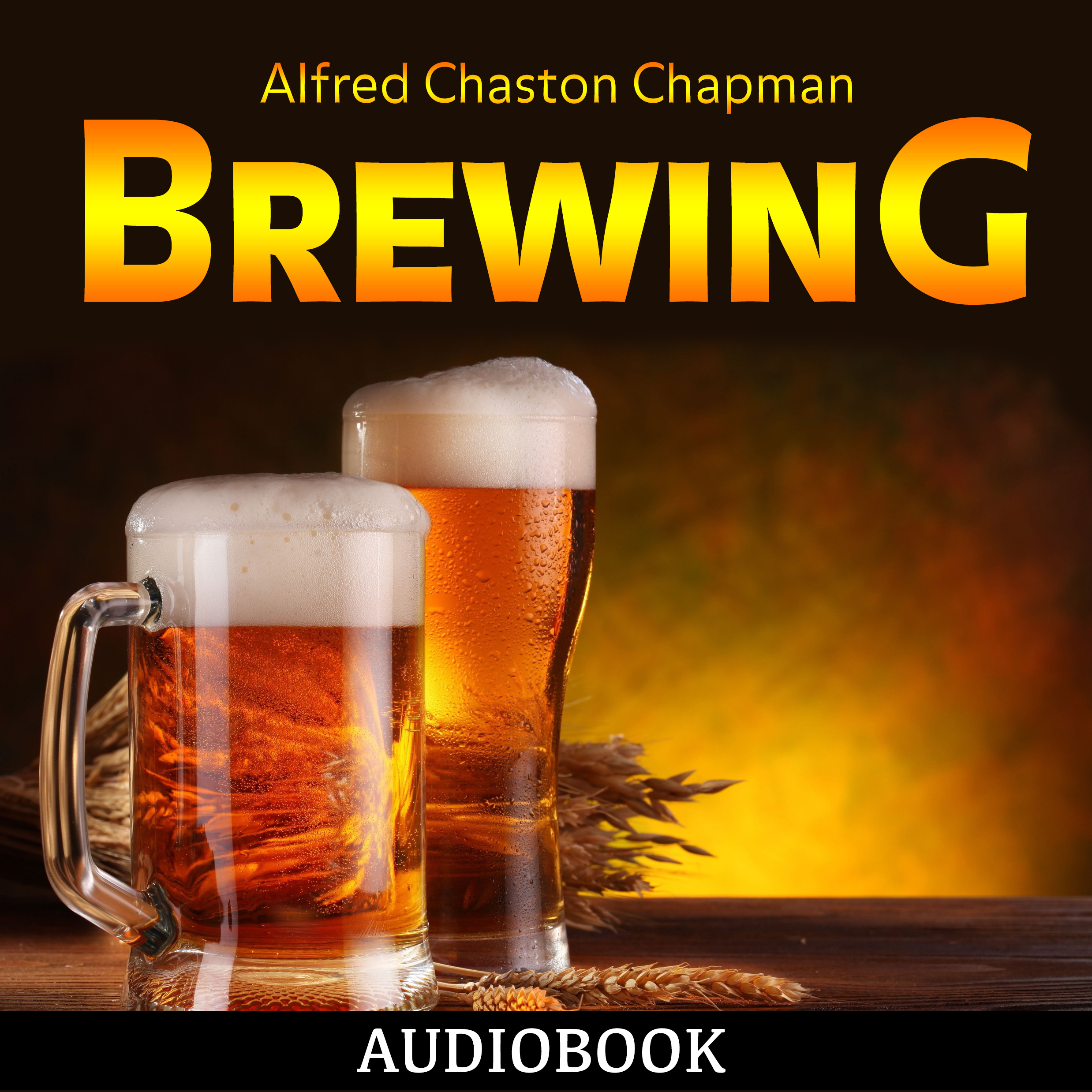 Printable Brewing Audiobook Cover Art