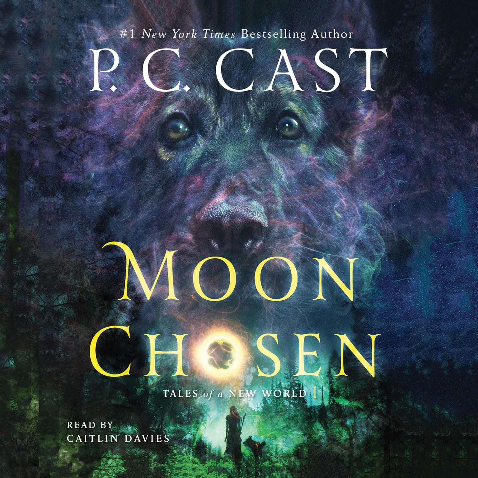 Printable Moon Chosen: Tales of a New World Audiobook Cover Art