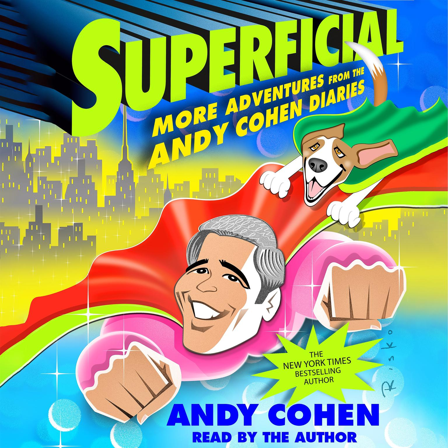 Printable Superficial: More Adventures from the Andy Cohen Diaries Audiobook Cover Art