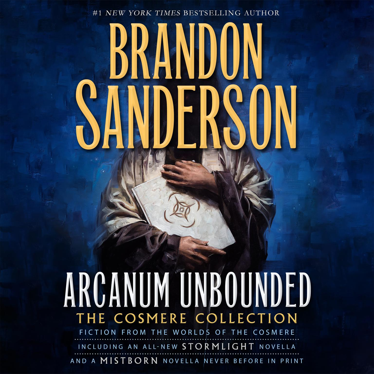 Printable Arcanum Unbounded: The Cosmere Collection Audiobook Cover Art