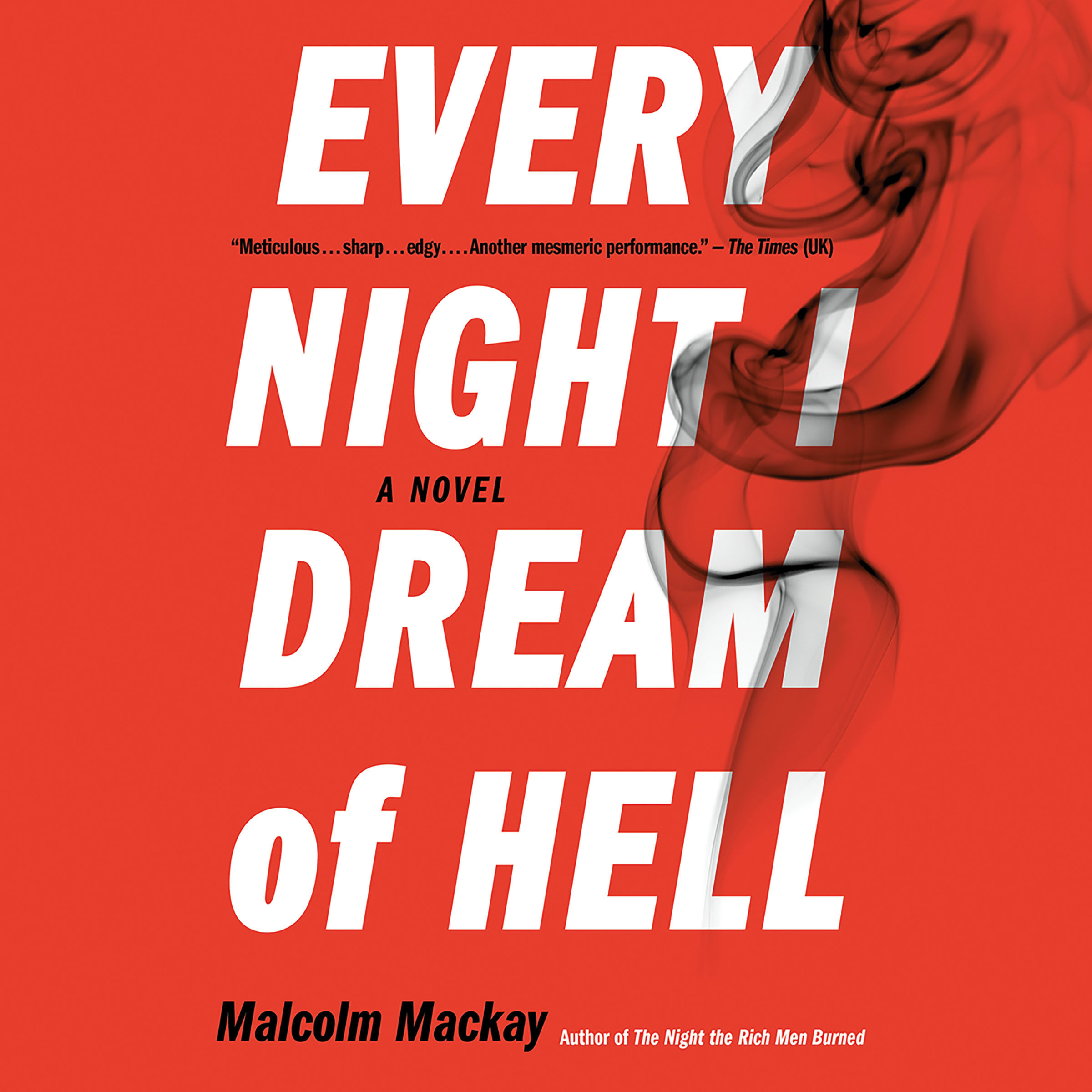 Printable Every Night I Dream of Hell Audiobook Cover Art