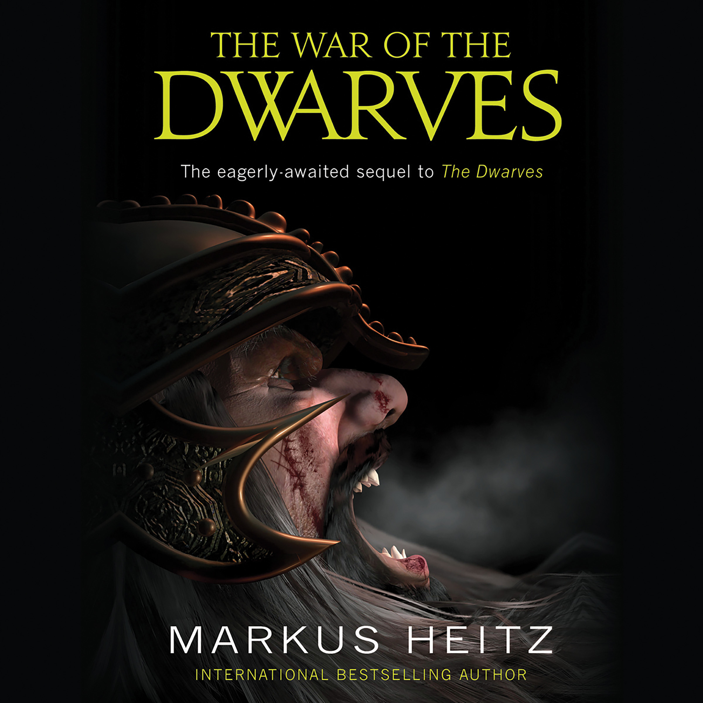 Printable The War of the Dwarves Audiobook Cover Art