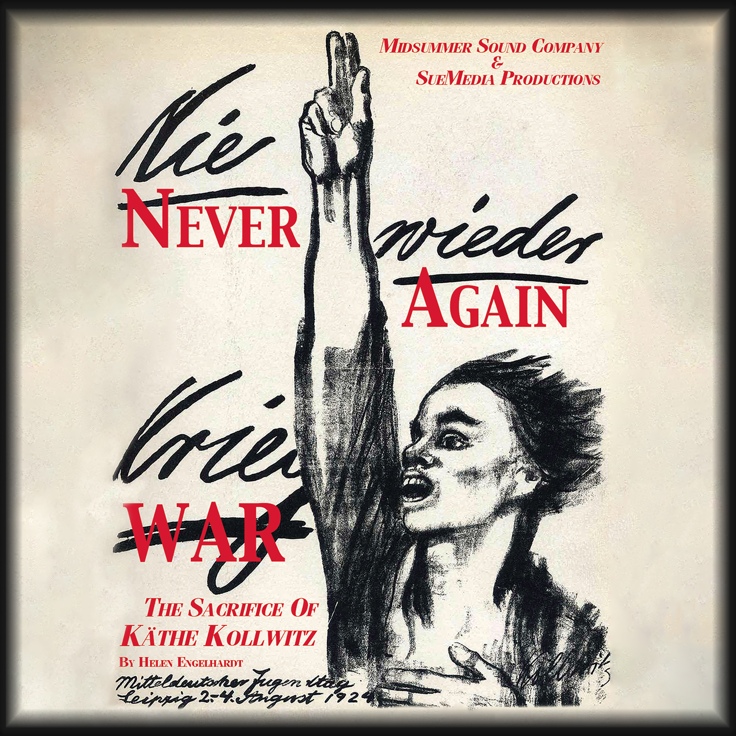 Printable Never Again War: The Sacrifice of Käthe Kollwitz Audiobook Cover Art