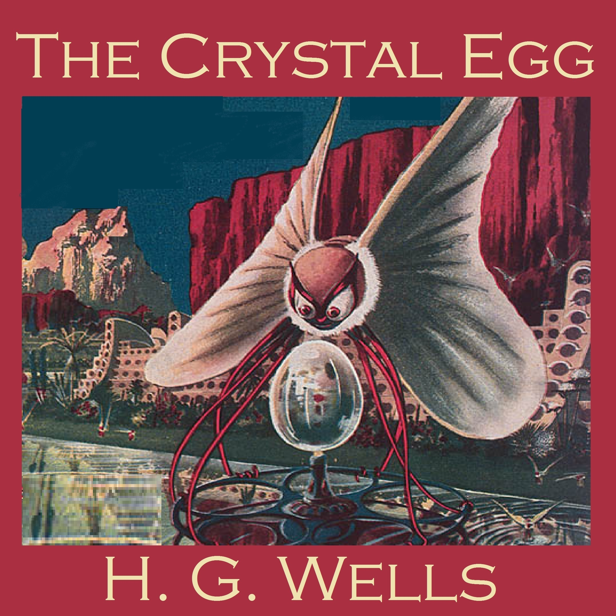 Printable The Crystal Egg Audiobook Cover Art