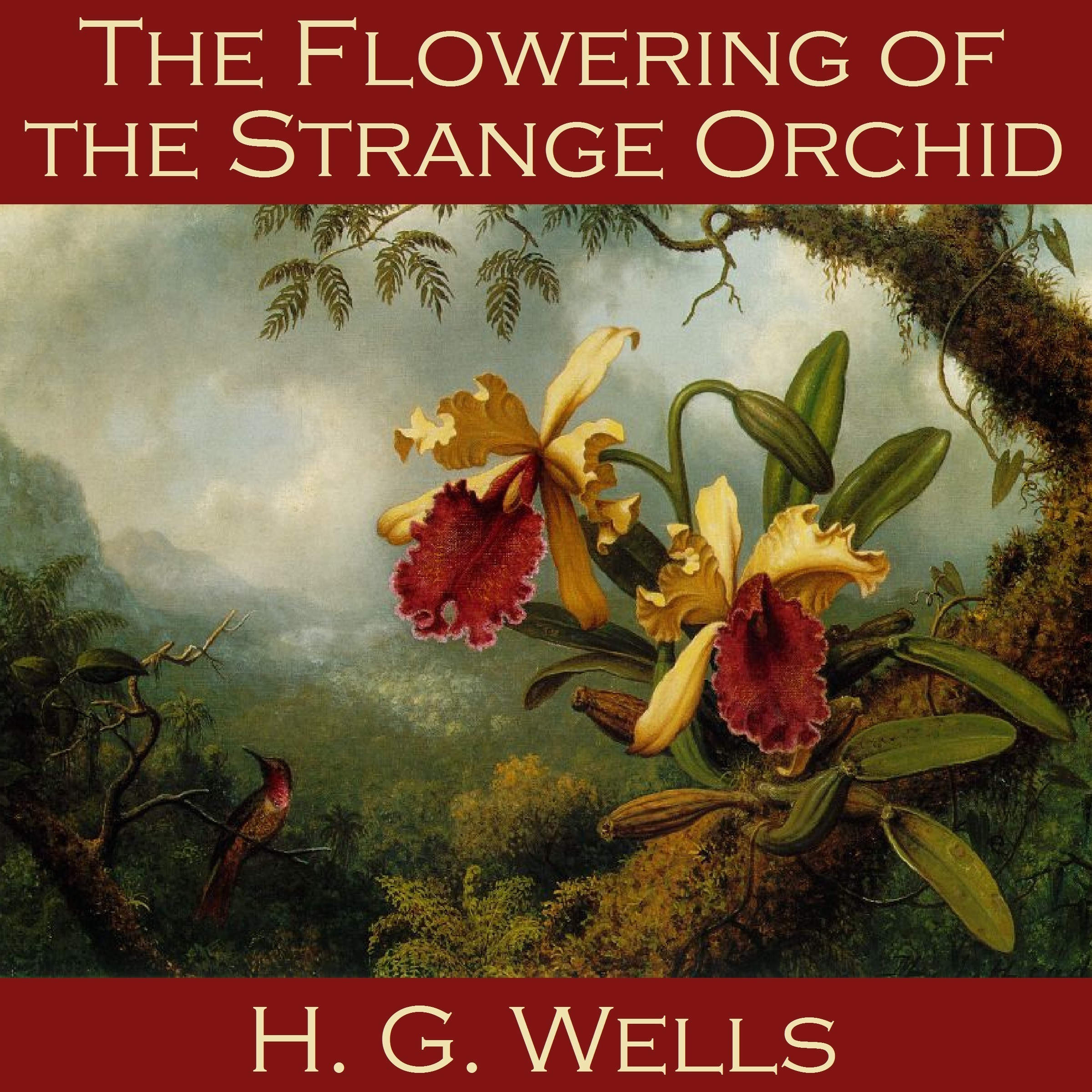 Printable The Flowering of the Strange Orchid Audiobook Cover Art