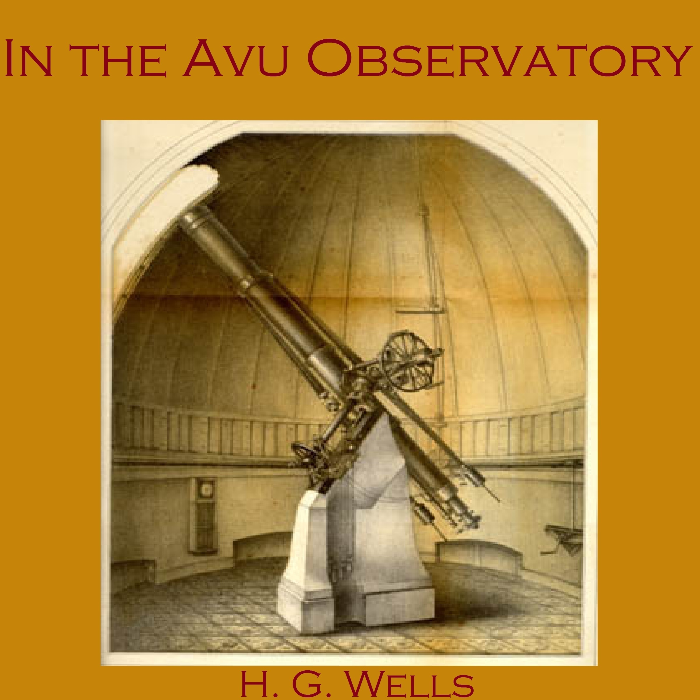 Printable In the Avu Observatory Audiobook Cover Art