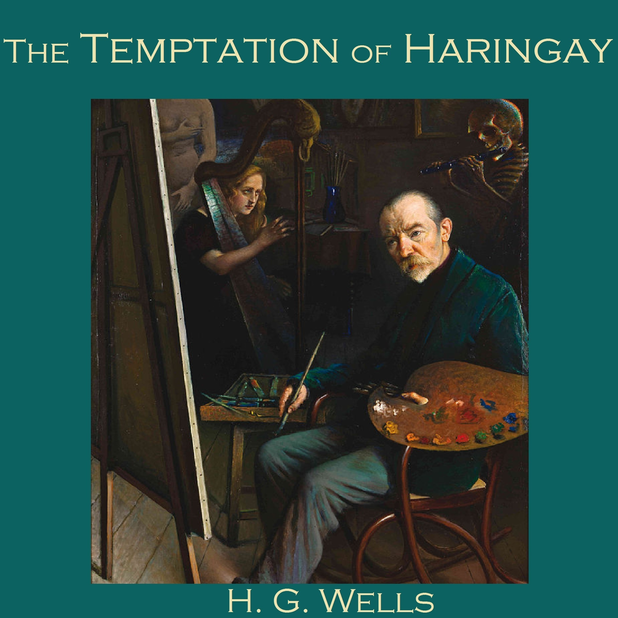 Printable The Temptation of Haringay Audiobook Cover Art