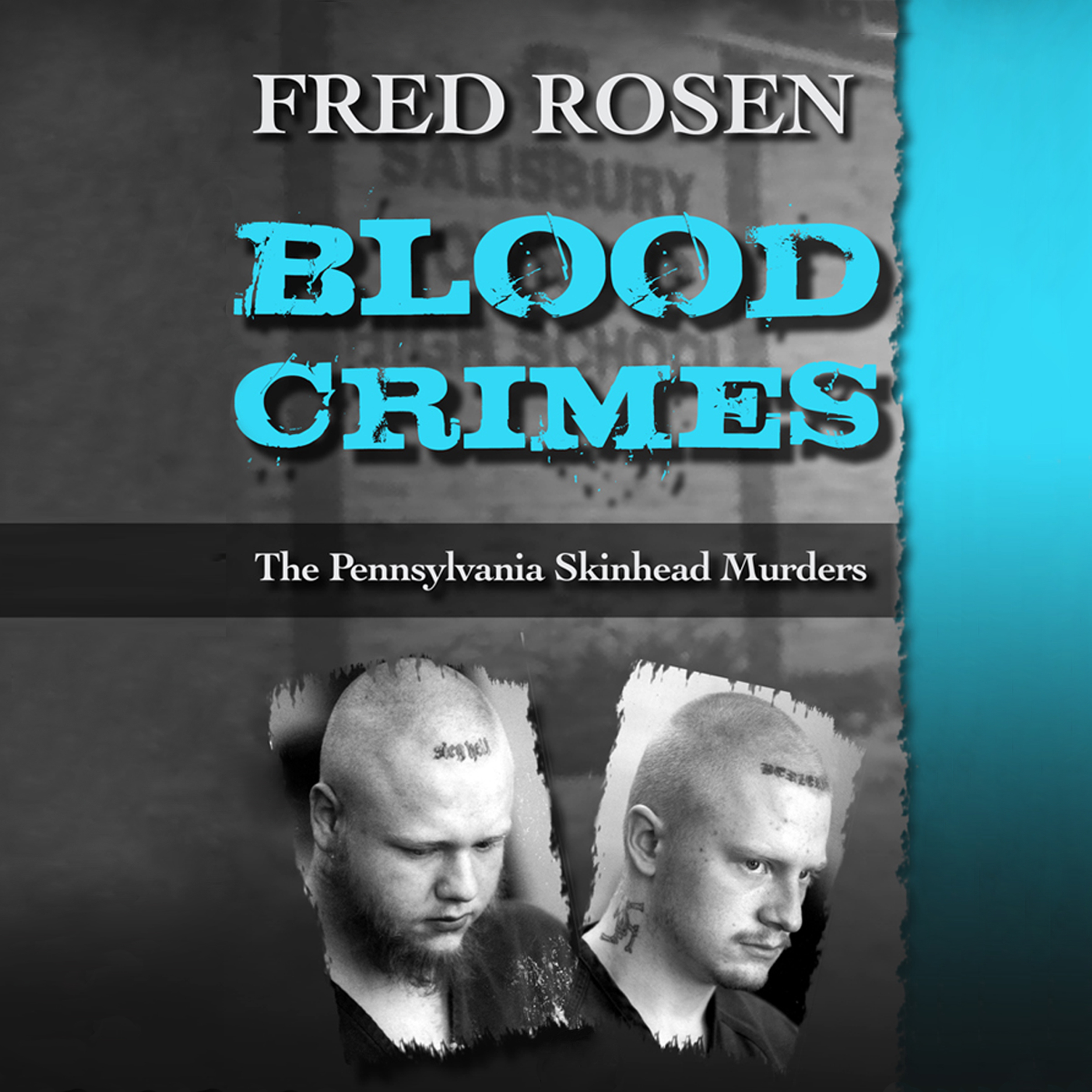 Printable Blood Crimes: The Pennsylvania Skinhead Murders Audiobook Cover Art