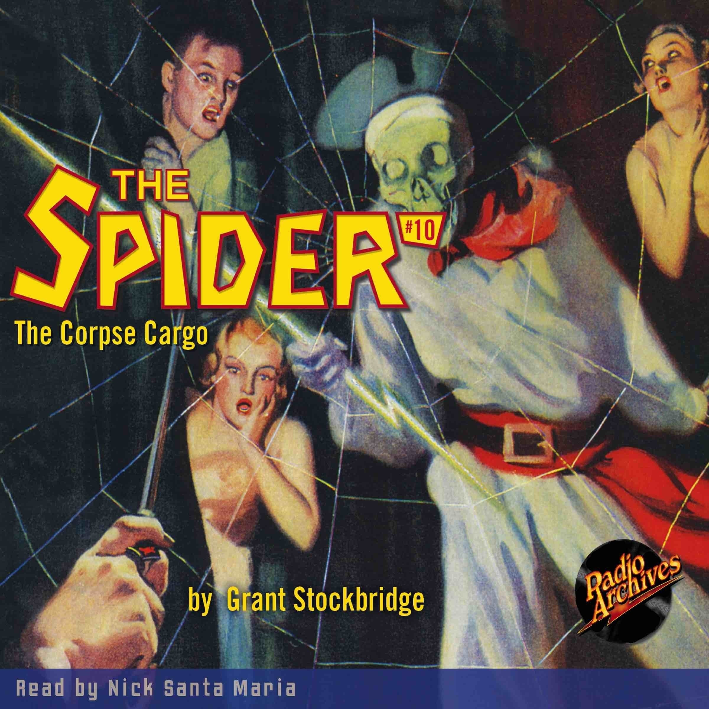 Printable The Spider #10: Corpse Cargo Audiobook Cover Art
