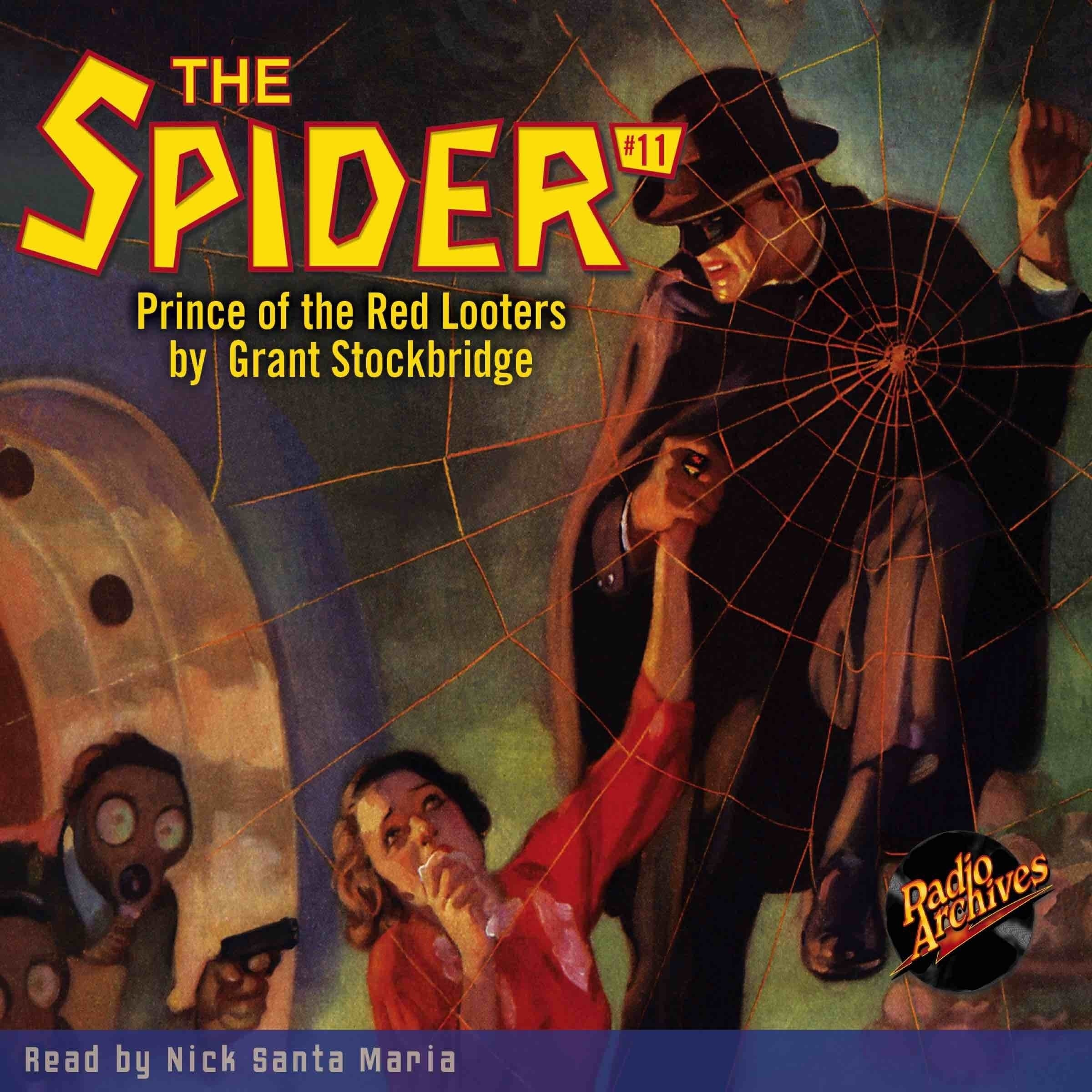 Printable The Spider #11: Prince of the Red Looters Audiobook Cover Art