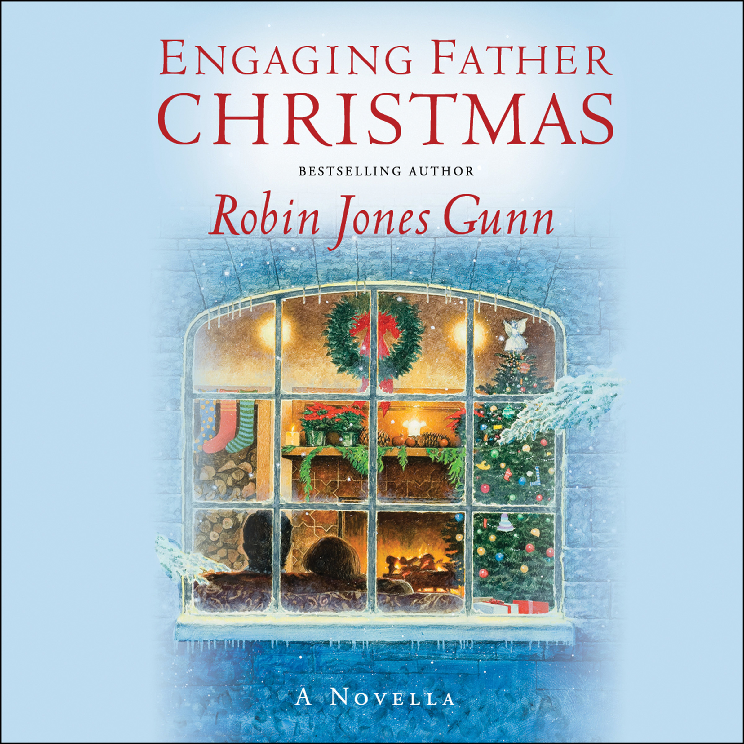 Printable Engaging Father Christmas: A Novella Audiobook Cover Art