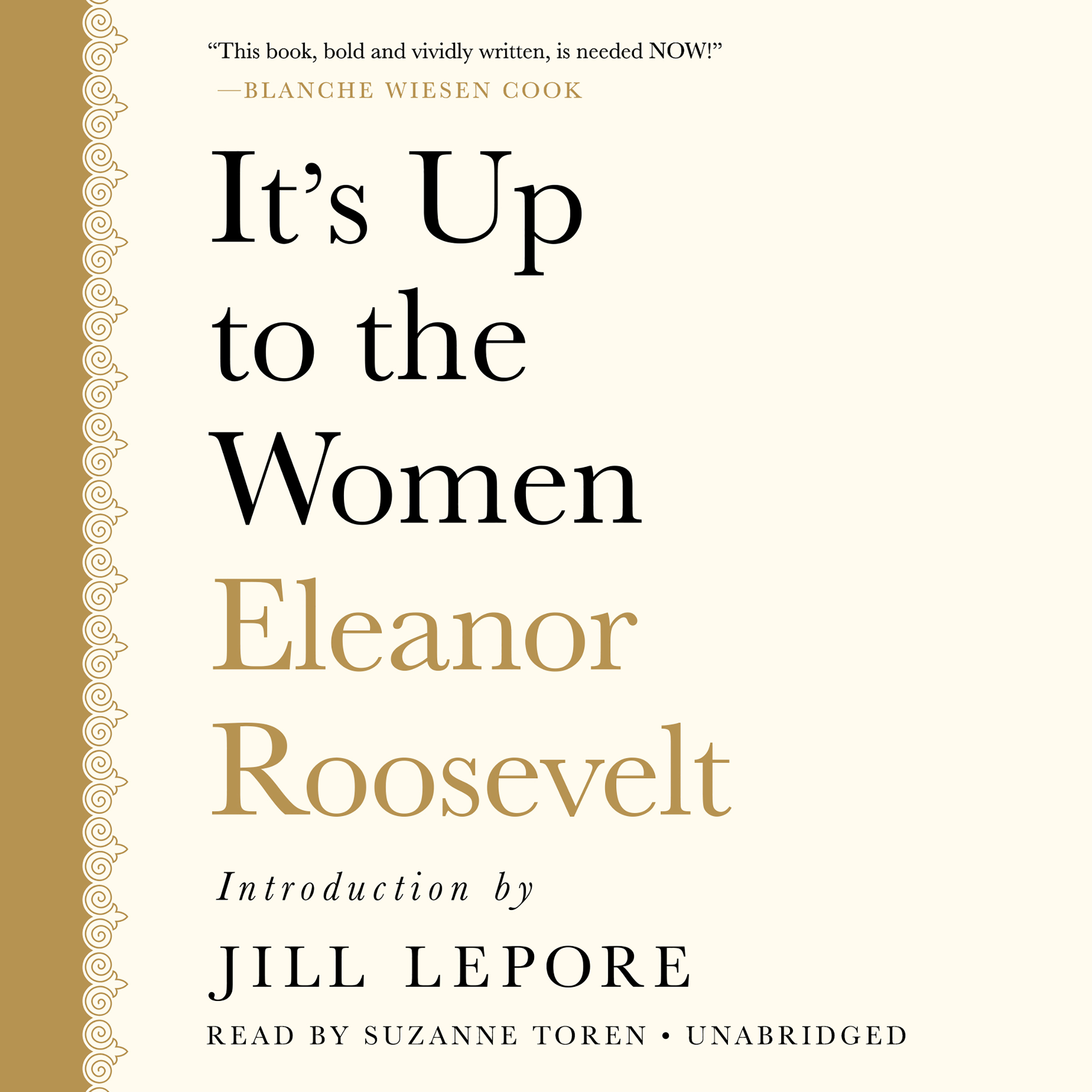 Printable It's up to the Women Audiobook Cover Art