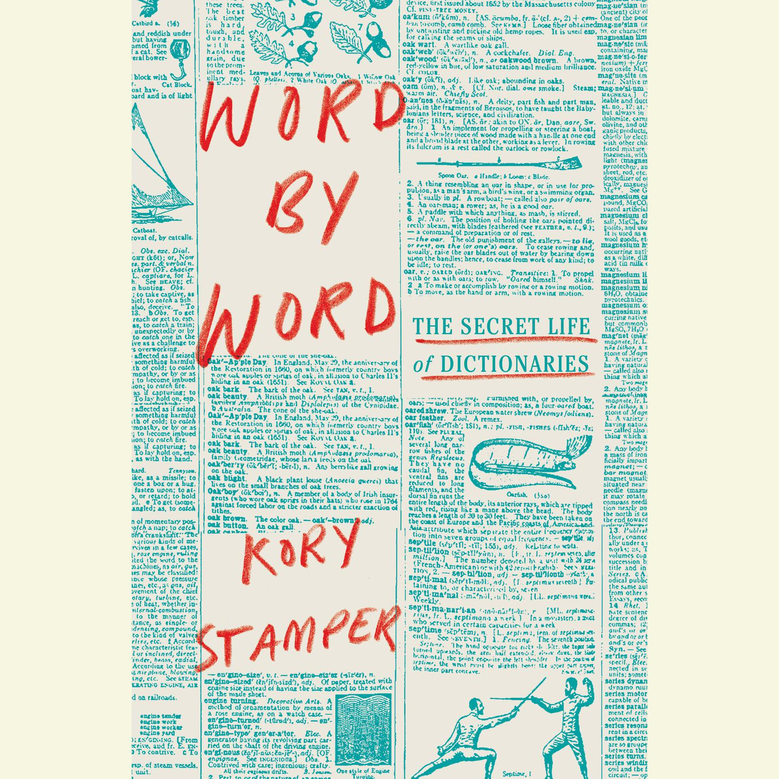 Printable Word by Word: The Secret Life of Dictionaries Audiobook Cover Art