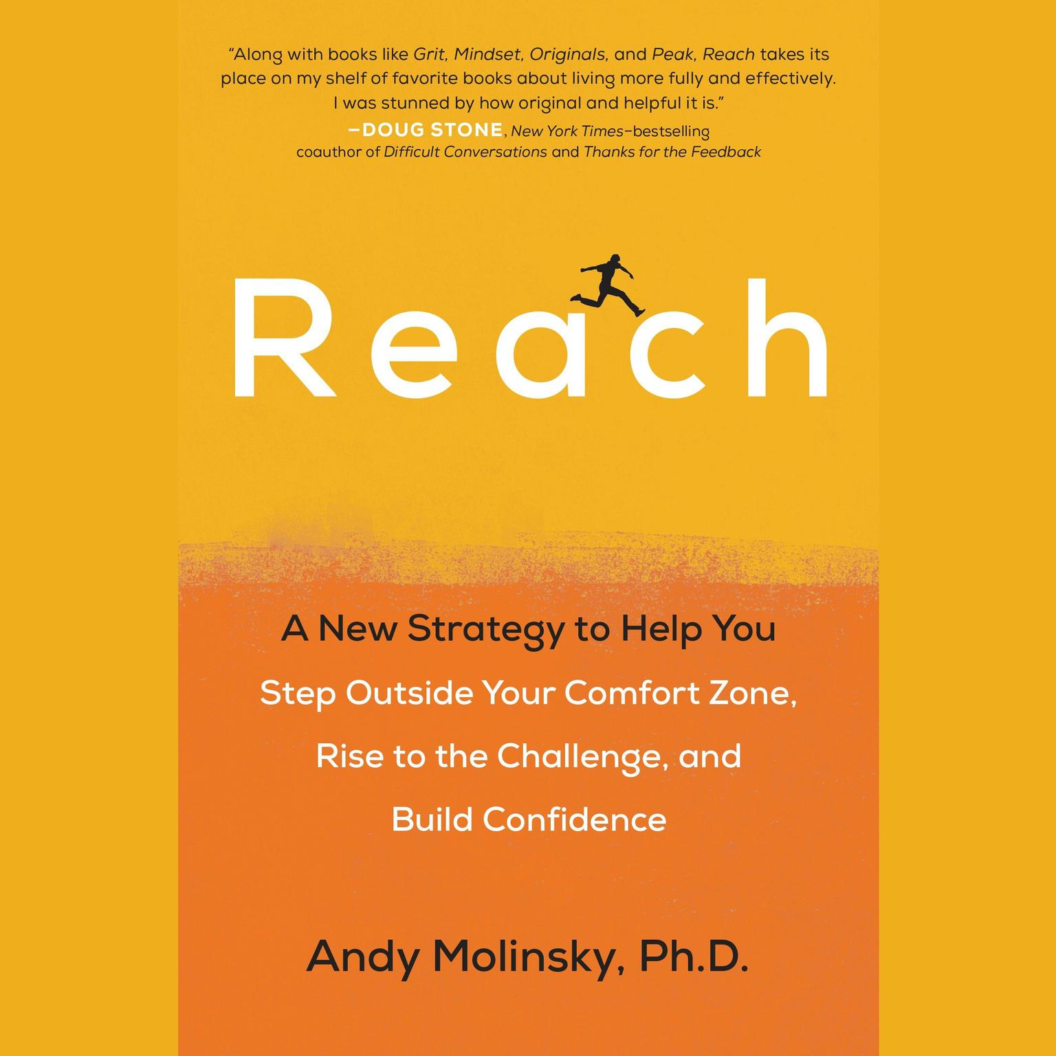 Printable Reach: A New Strategy to Help You Step Outside Your Comfort Zone, Rise to the Challenge , and Build Confidence Audiobook Cover Art