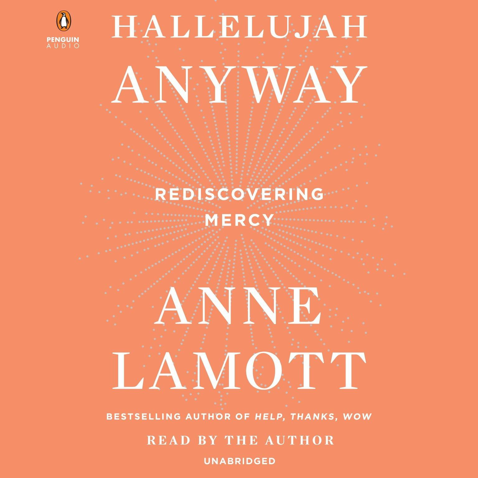 Printable Hallelujah Anyway: Rediscovering Mercy Audiobook Cover Art