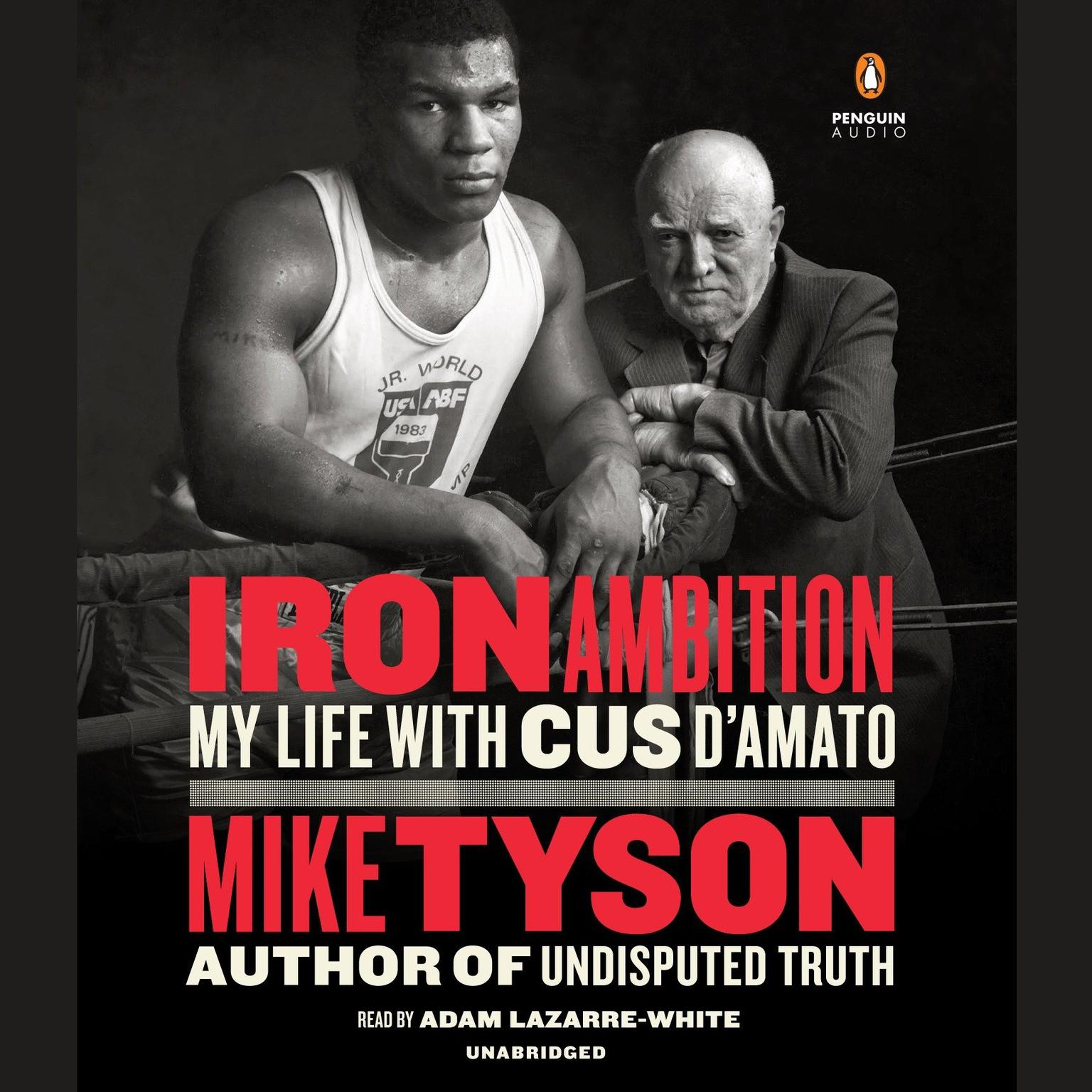 Printable Iron Ambition: My Life with Cus D'Amato Audiobook Cover Art