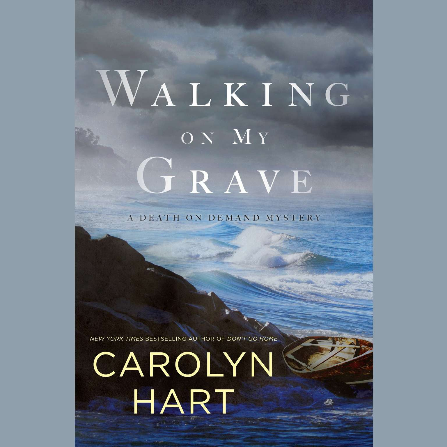 Printable Walking on My Grave Audiobook Cover Art