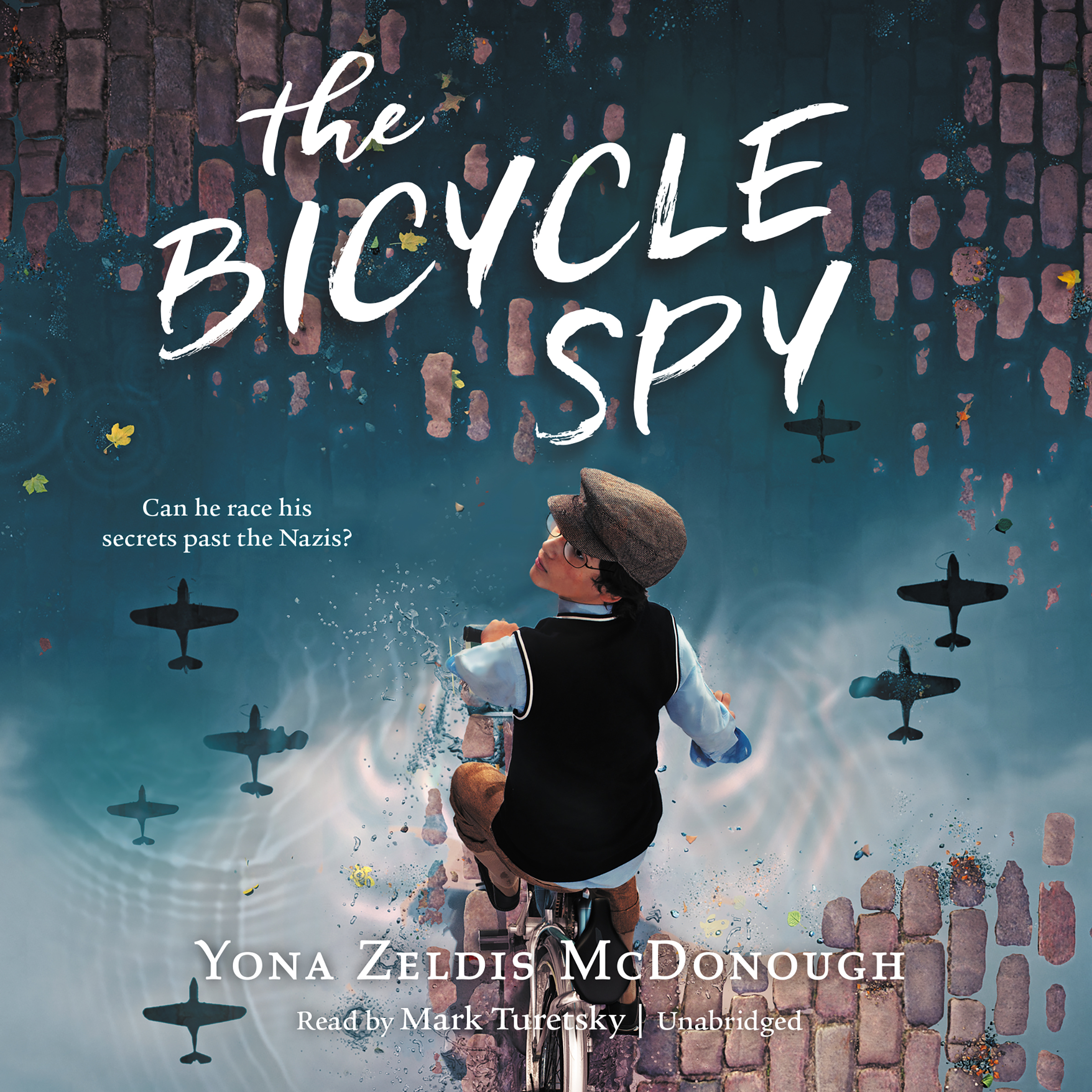 Printable The Bicycle Spy Audiobook Cover Art