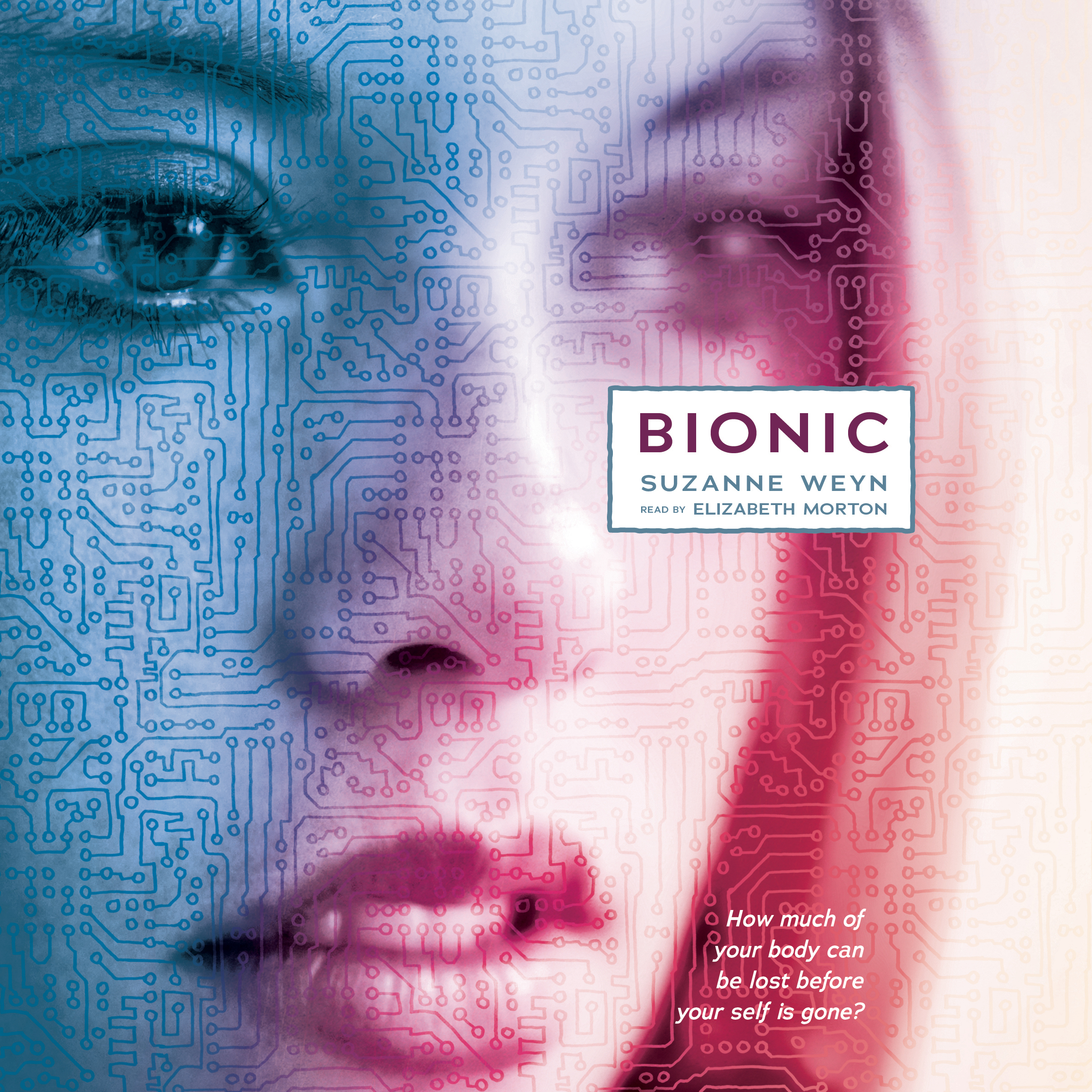 Printable Bionic Audiobook Cover Art