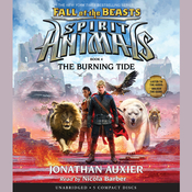 The Burning Tide Audiobook, by Jonathan Auxier