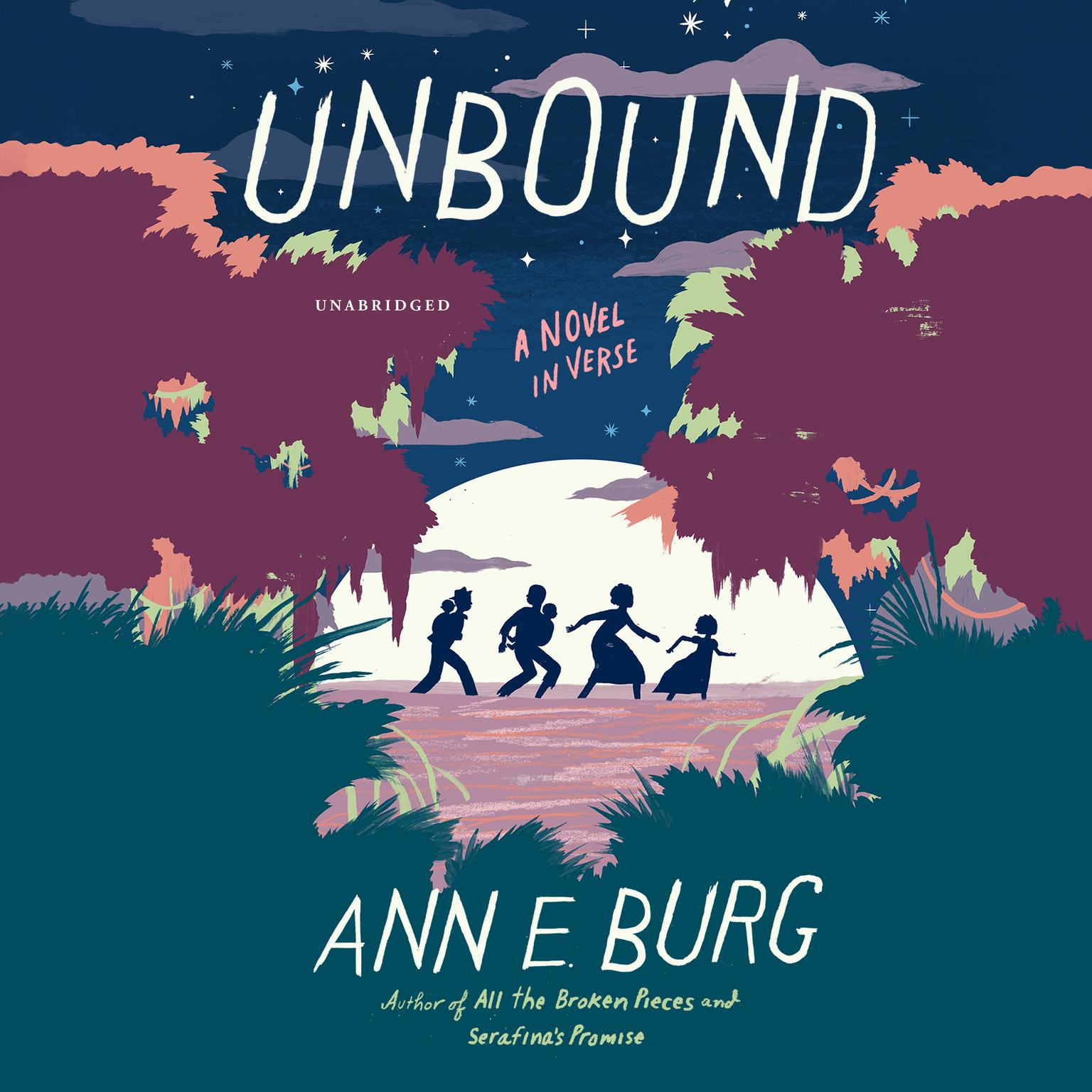 Printable Unbound: A Novel in Verse Audiobook Cover Art