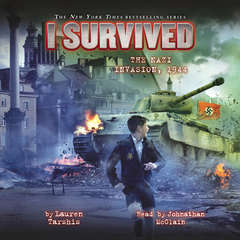 I Survived the Nazi Invasion, 1944 Audiobook, by Lauren Tarshis