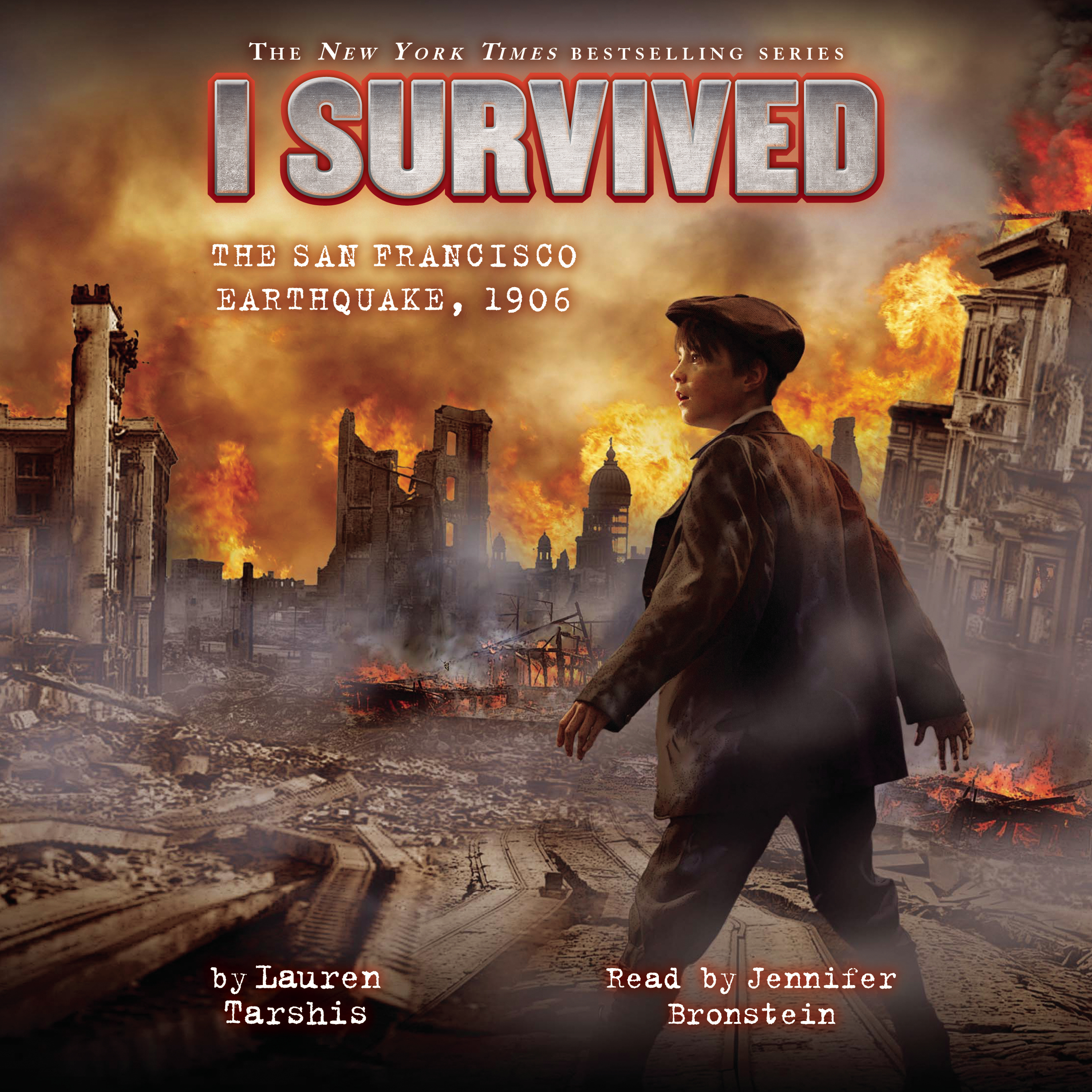 Printable I Survived the San Francisco Earthquake, 1906 Audiobook Cover Art
