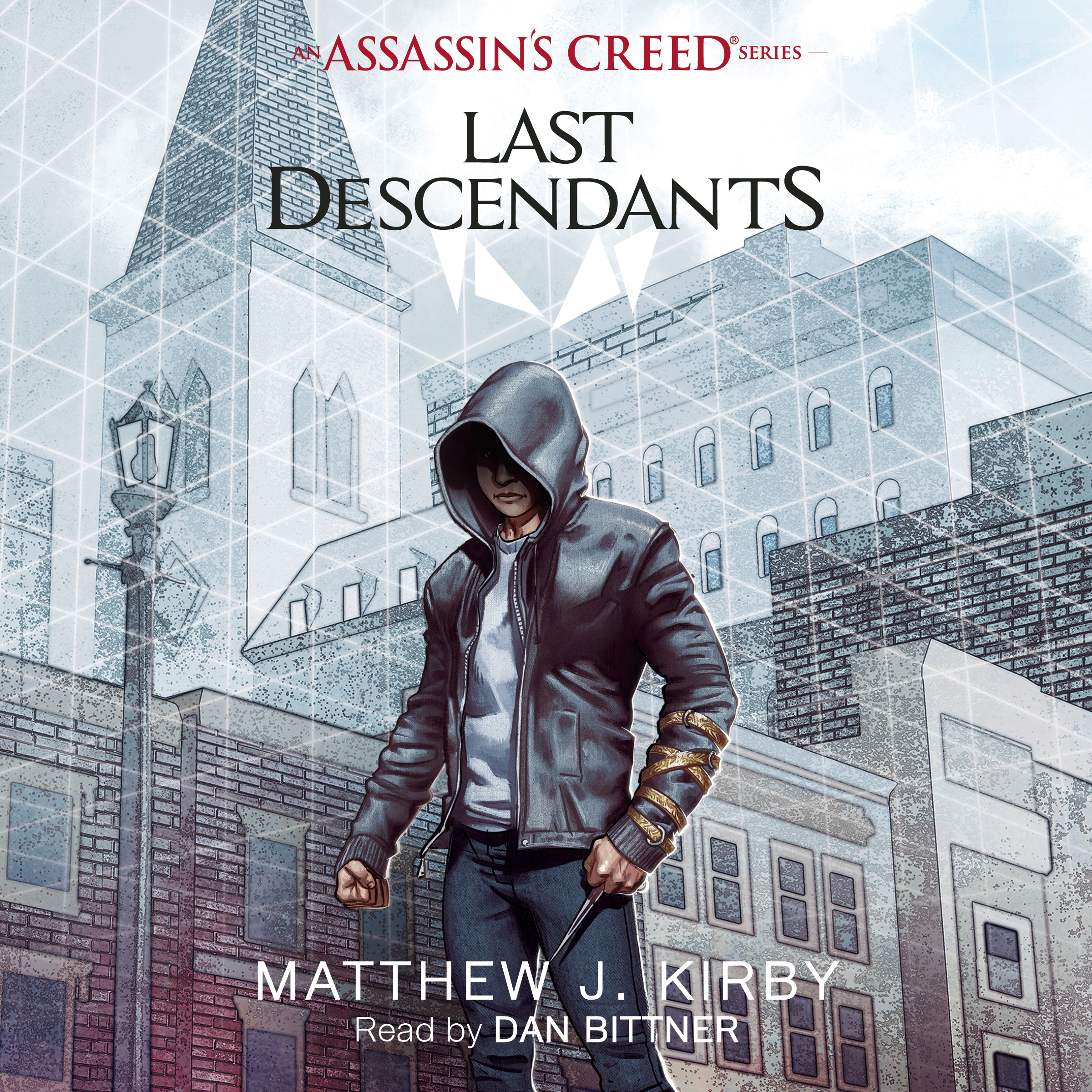 Printable  Last Descendants: An Assassin's Creed Novel Series Audiobook Cover Art