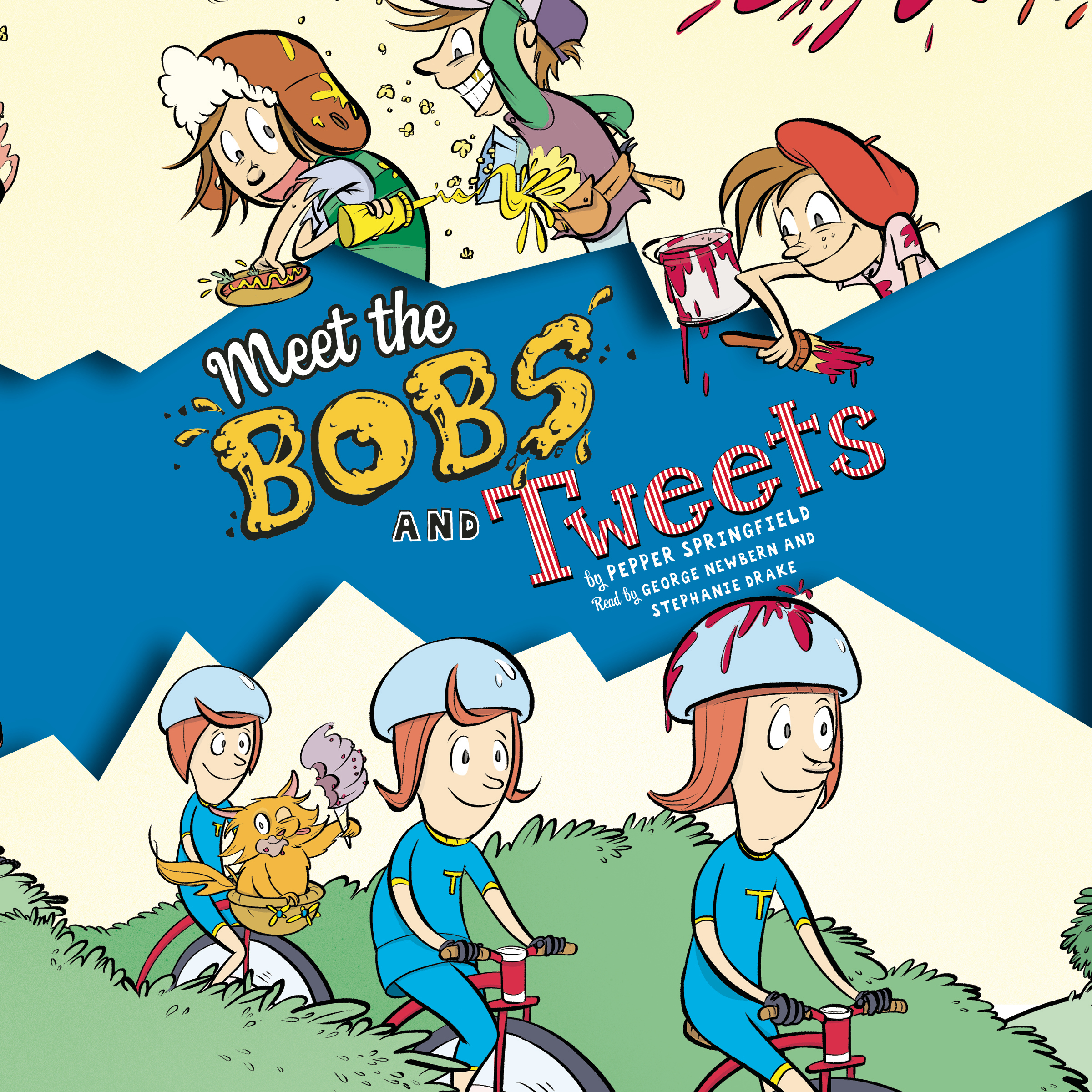 Printable Meet the Bobs and Tweets Audiobook Cover Art