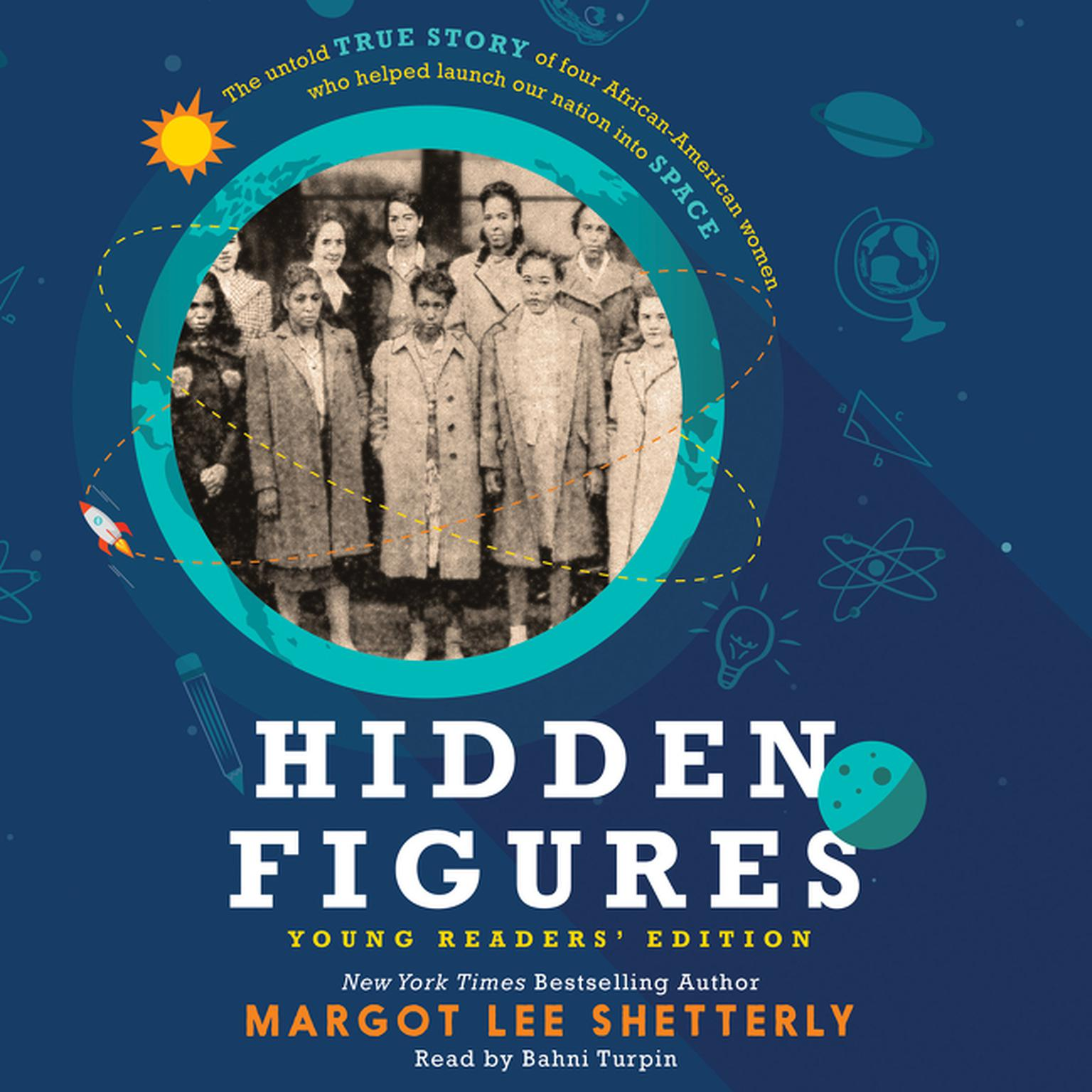 Printable Hidden Figures Young Readers' Edition Audiobook Cover Art