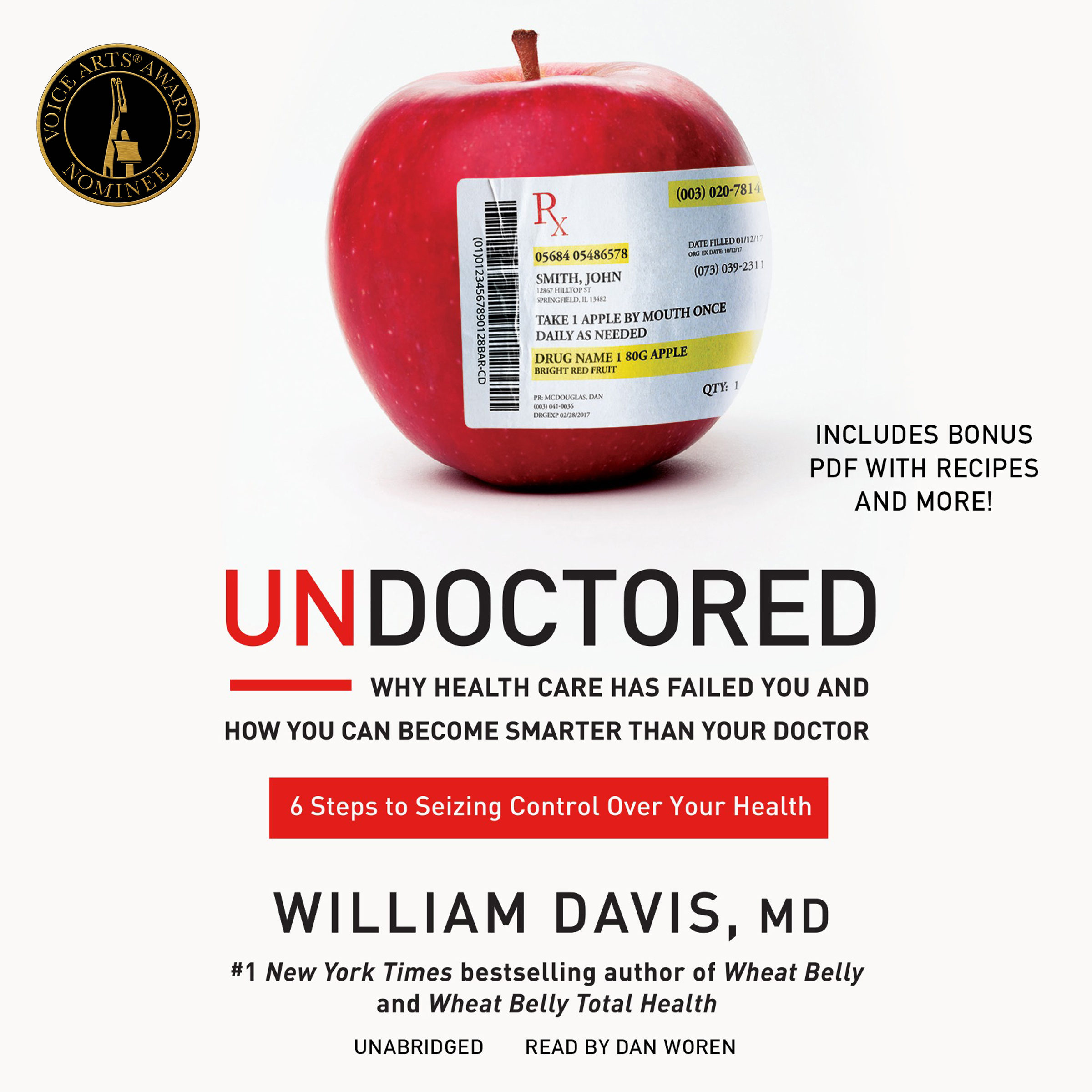 Printable Undoctored: Why the Healthcare System Has Failed You and How  You Can Discover Real Health on Your Own Audiobook Cover Art