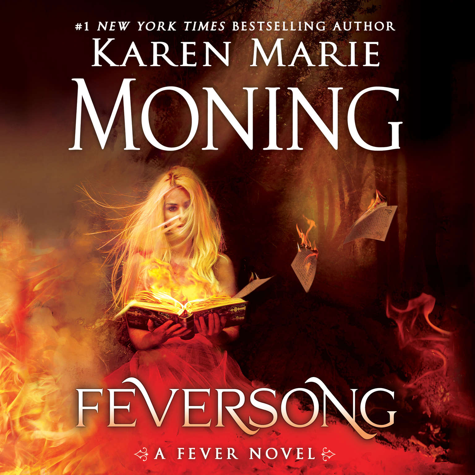 Printable Feversong Audiobook Cover Art