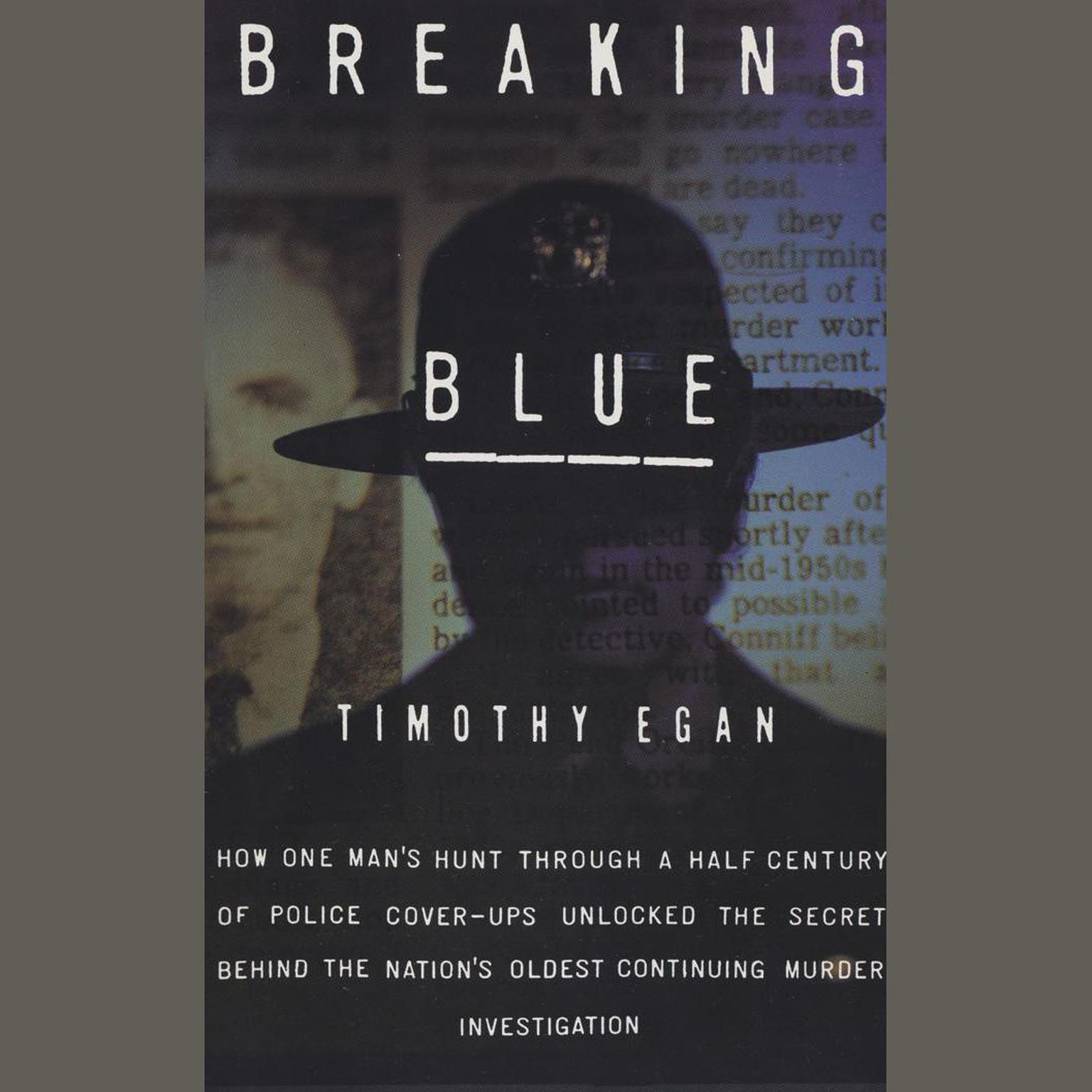 Printable Breaking Blue Audiobook Cover Art
