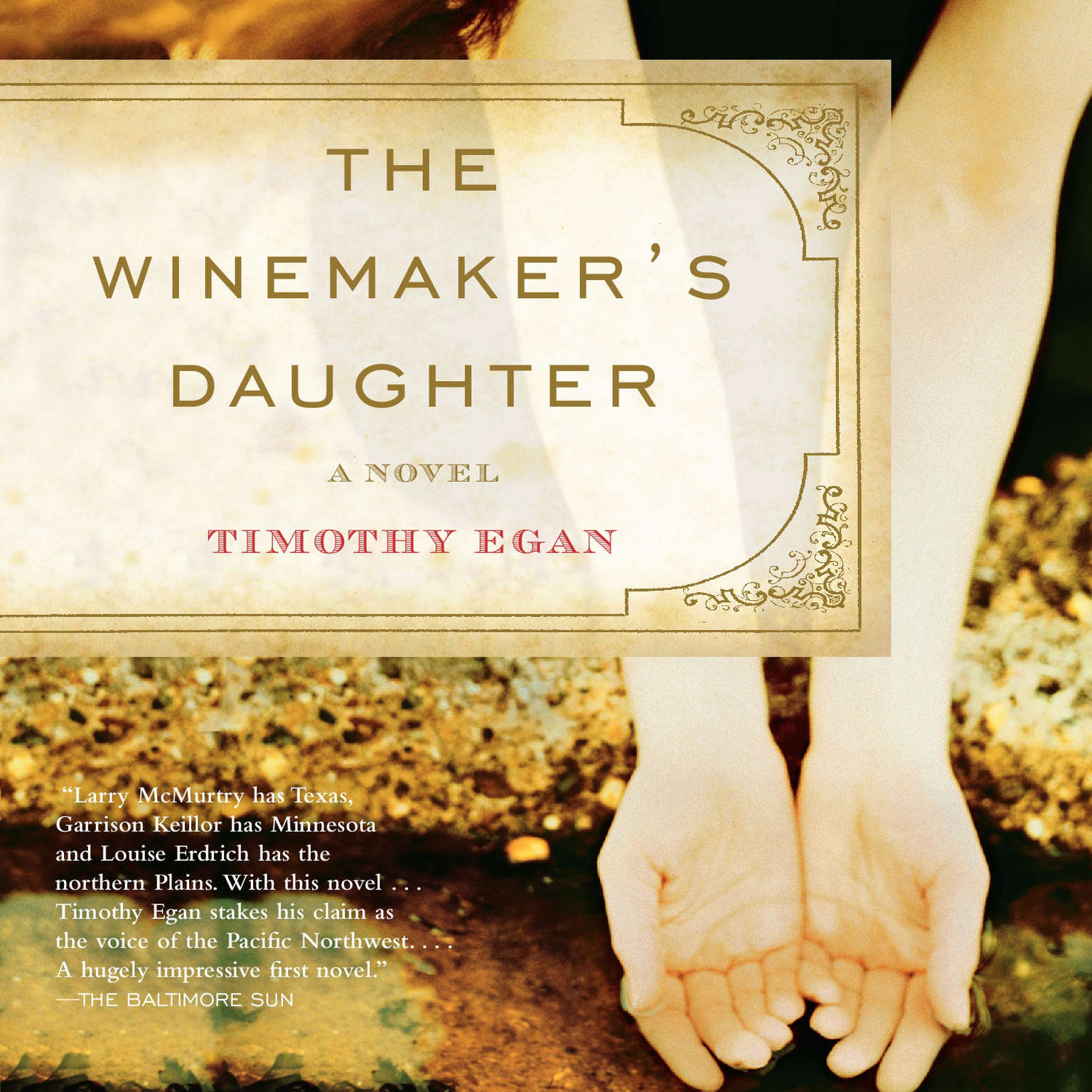Printable The Winemaker's Daughter Audiobook Cover Art