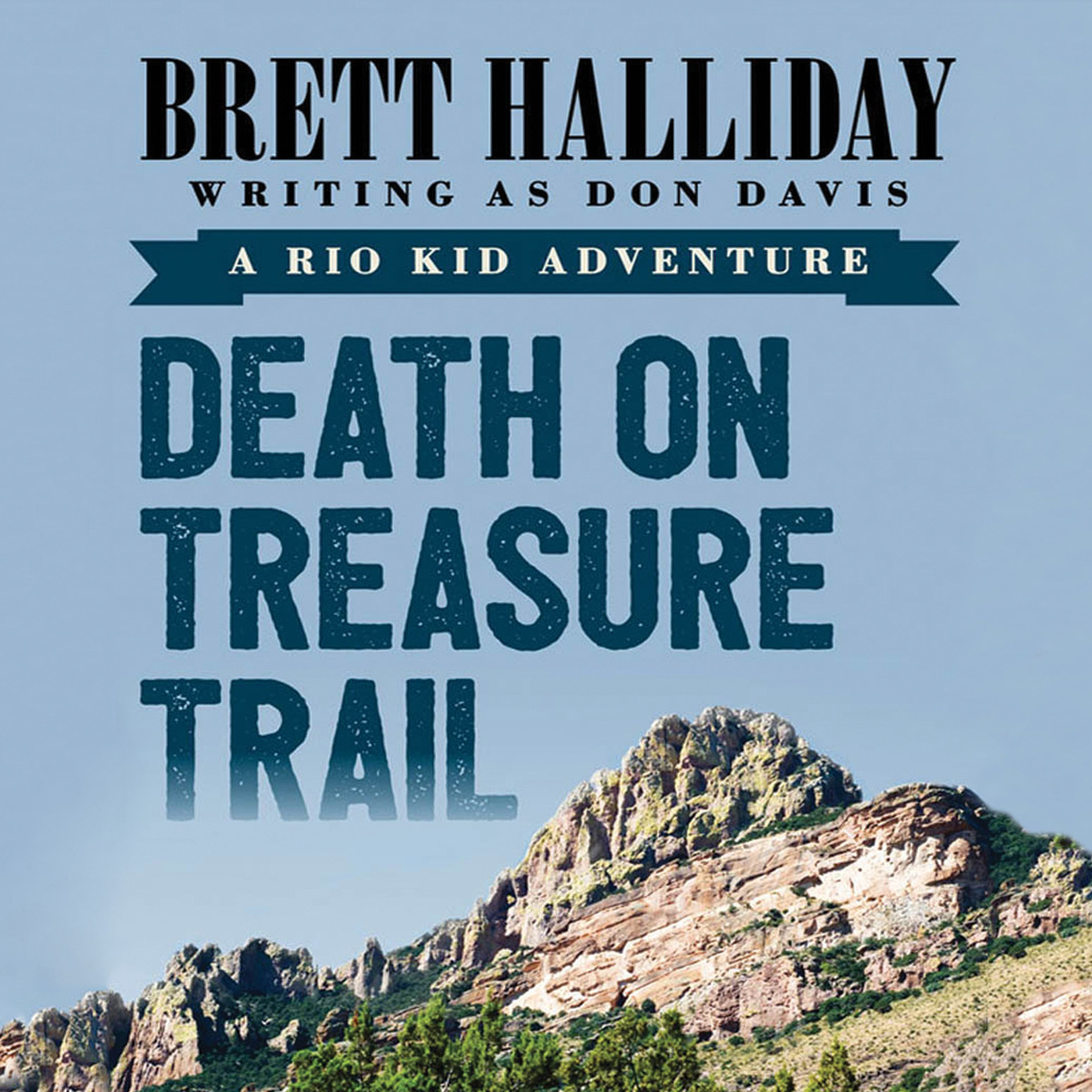 Printable Death on Treasure Trail Audiobook Cover Art
