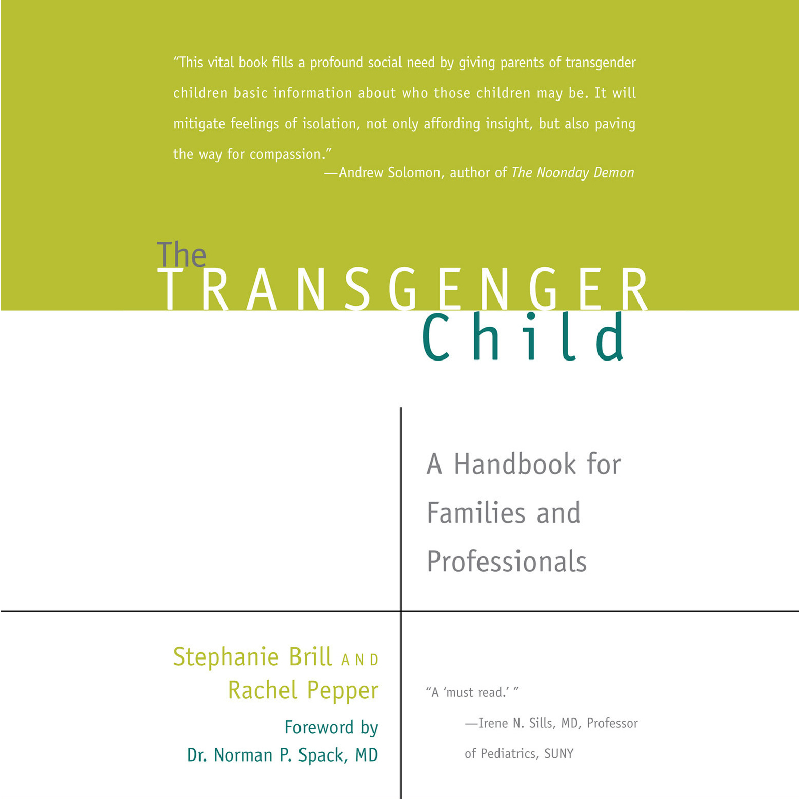 Printable The Transgender Child: A Handbook for Families and Professionals Audiobook Cover Art