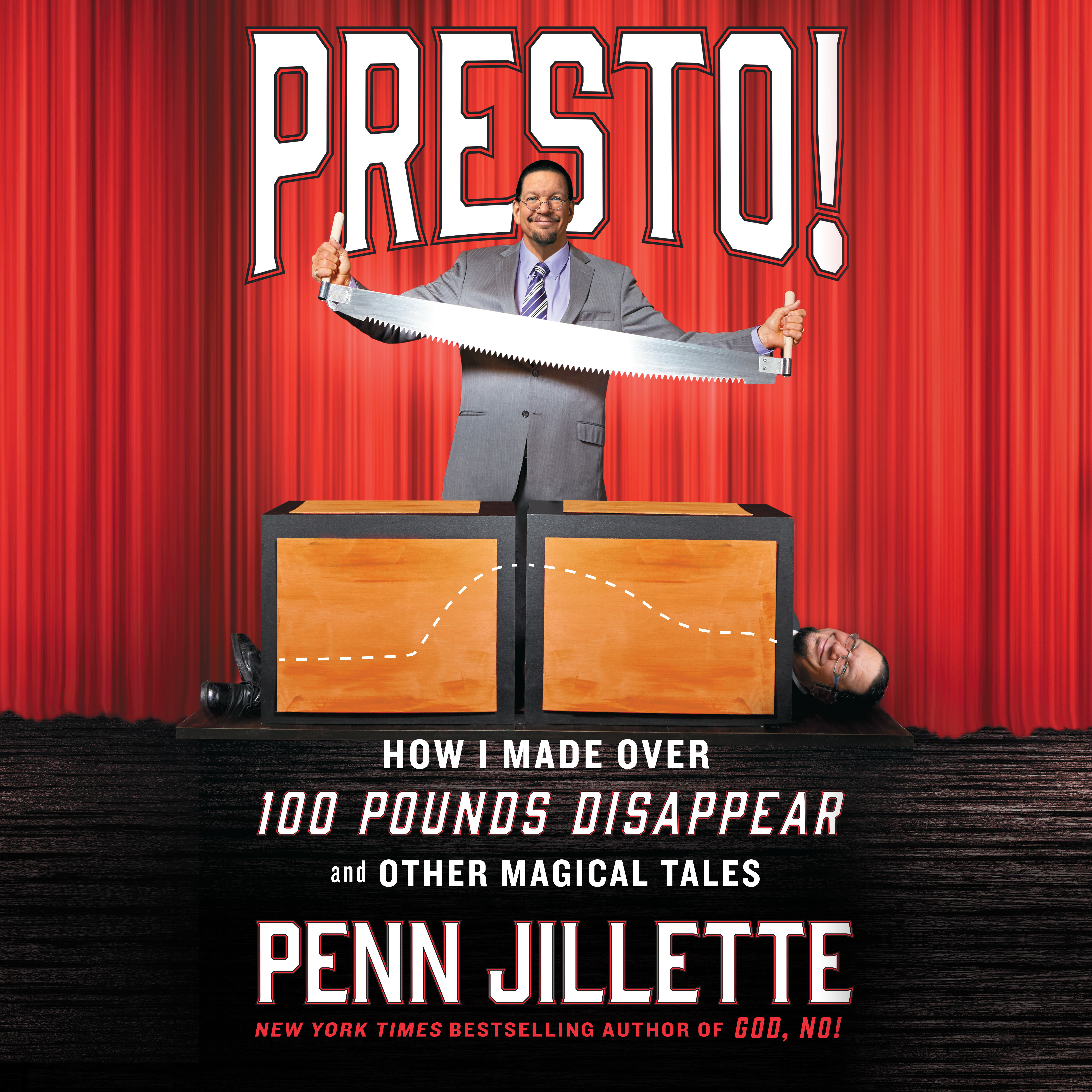 Printable Presto!: How I Made Over 100 Pounds Disappear and Other Magical Tales Audiobook Cover Art