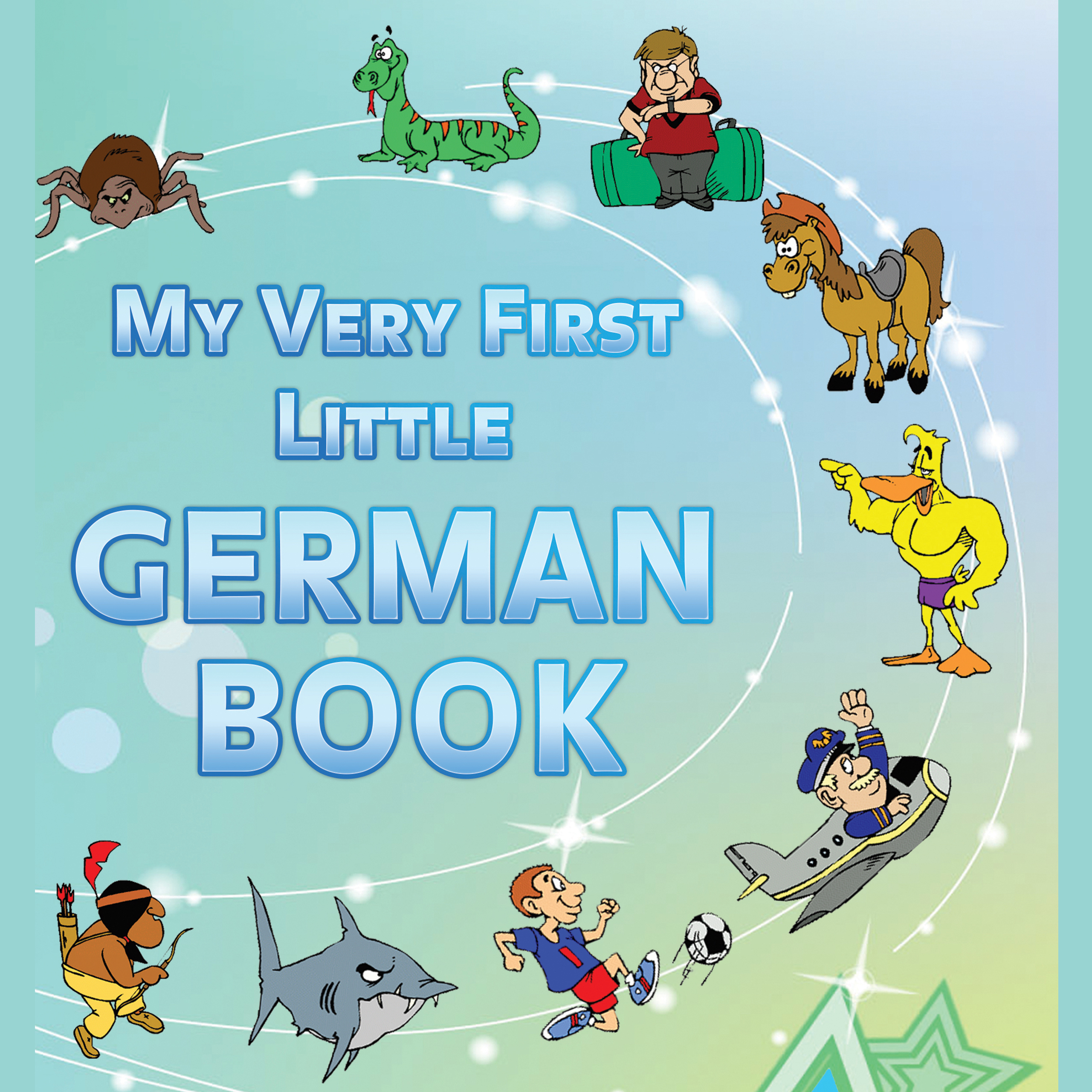 Printable My Very First Little German Book Audiobook Cover Art