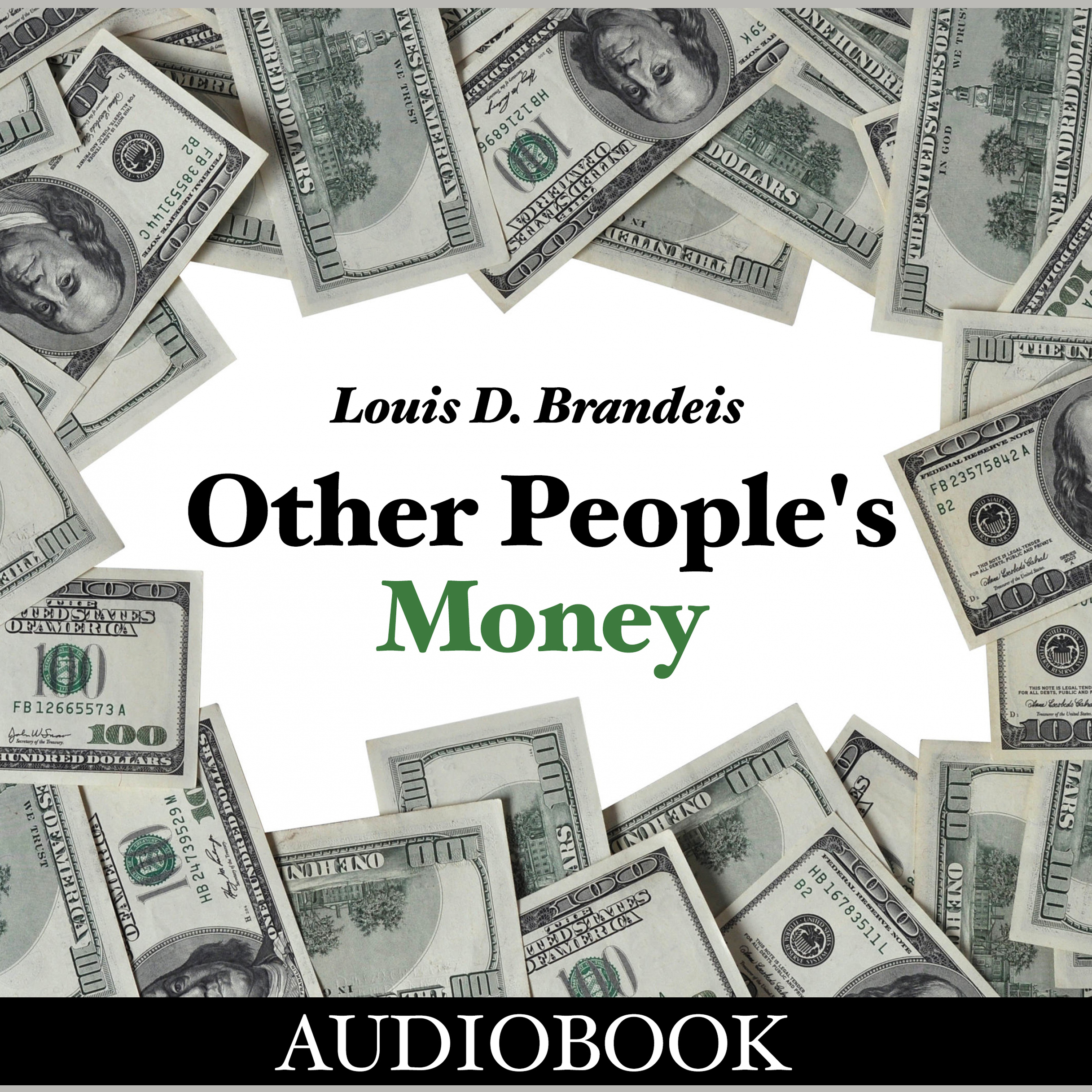 Printable Other People's Money Audiobook Cover Art